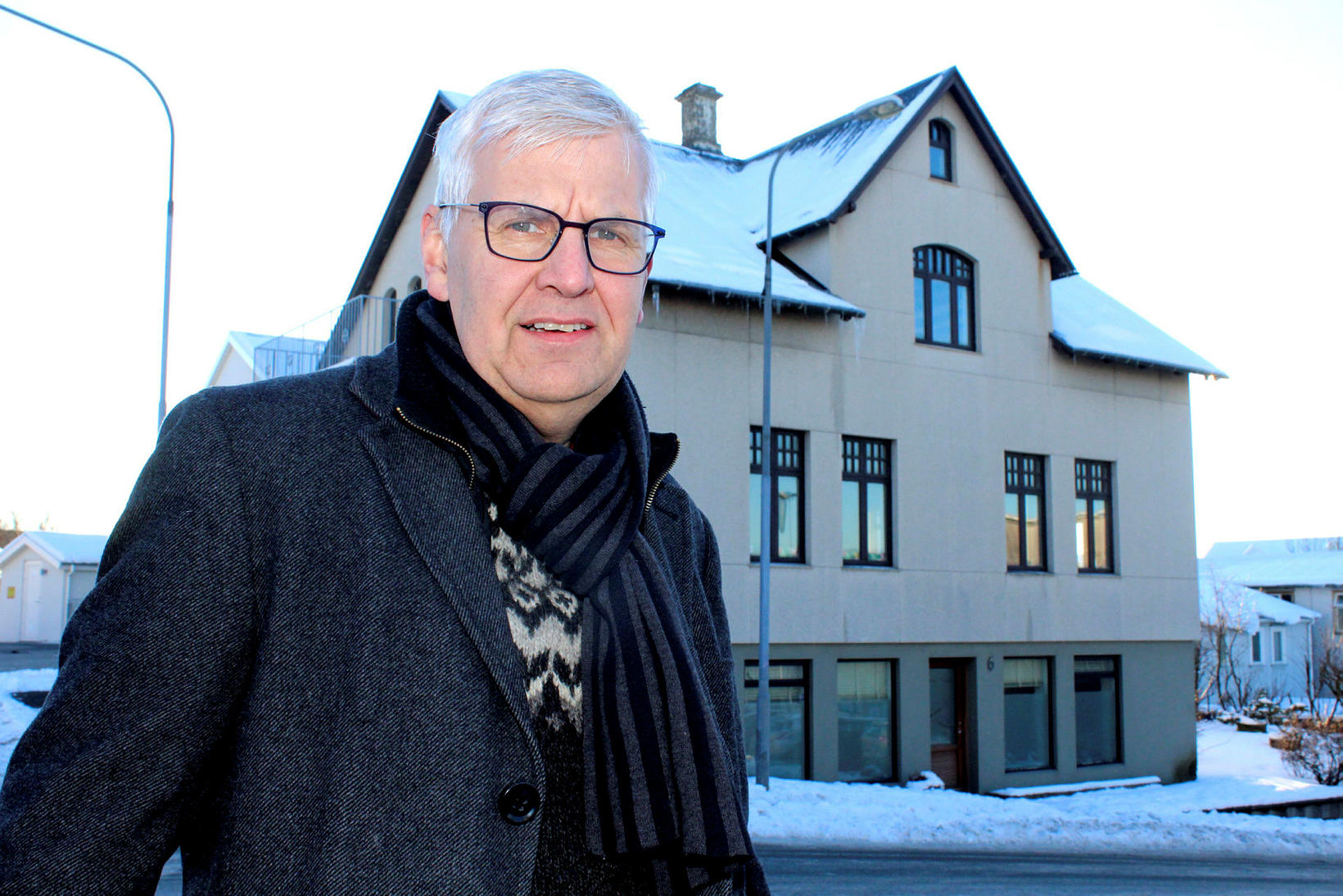 Einar Sveinbjörnsson veðurfræðingur.