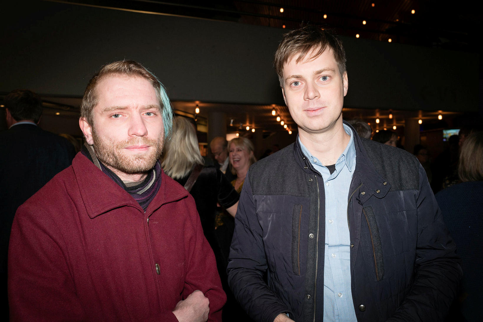 Ásmundur og Snæbjörn.