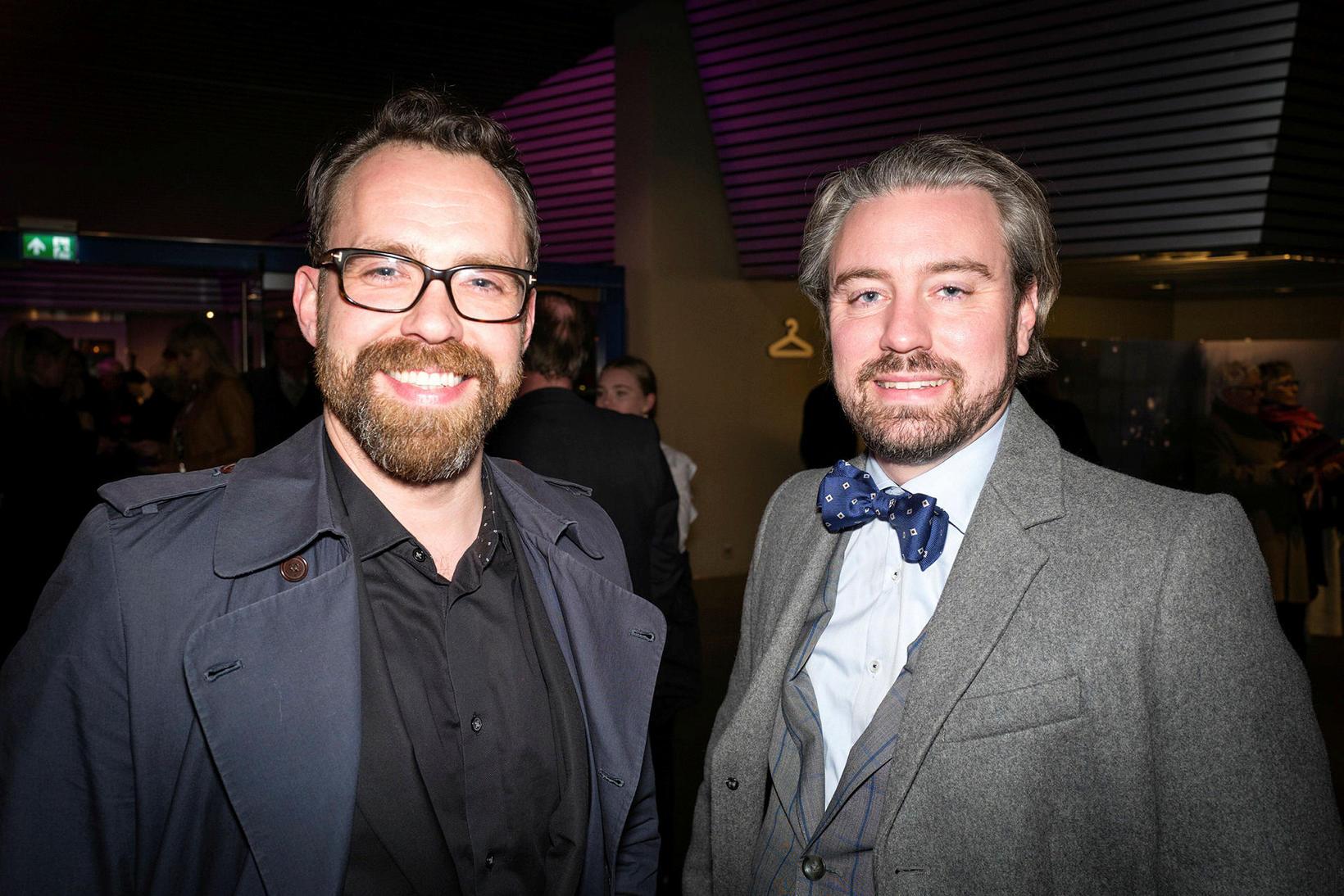 Orri Huginn og Sverrir Bollason.
