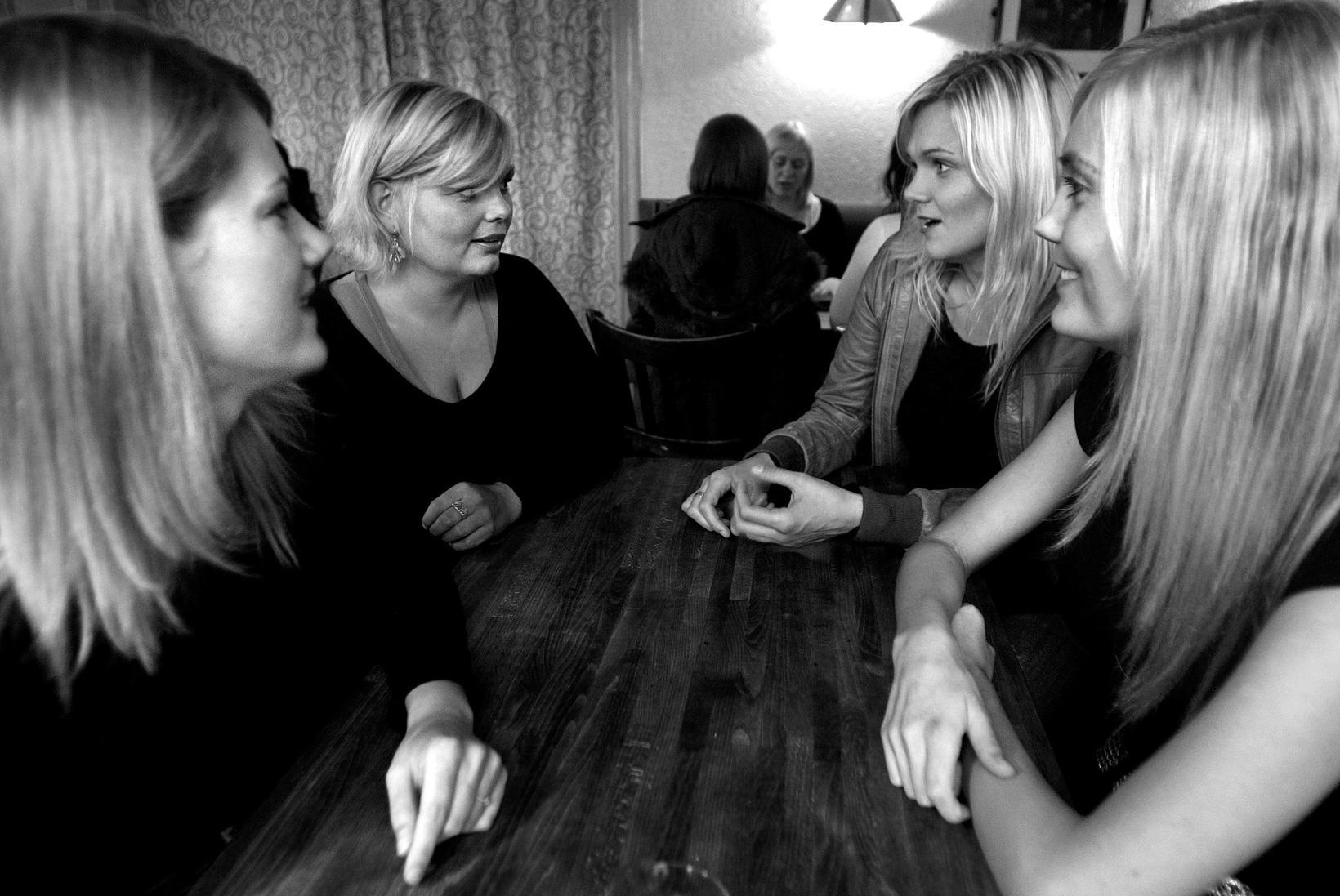 Bloggararnir Björg Guðjónsdóttir, Bergþóra Halldórsdóttir, Kristín Adda Einarsdóttir og Manuela …
