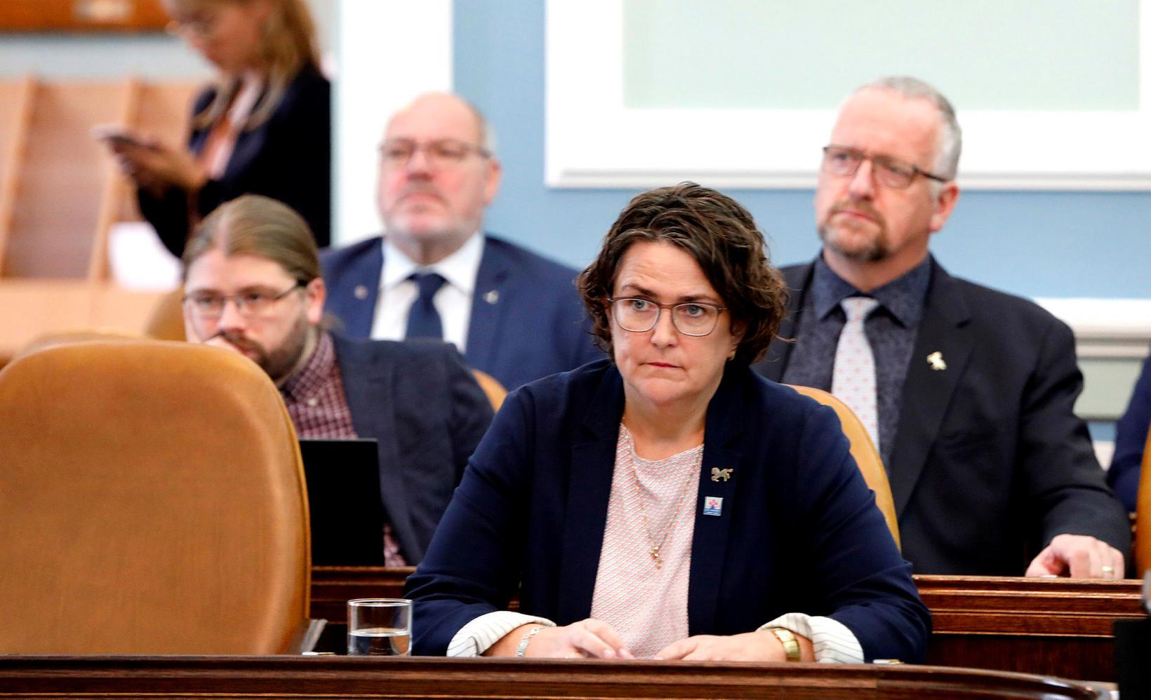 Anna Kolbrún Árnadóttir, þingmaður Miðflokksins, skilaði séráliti.
