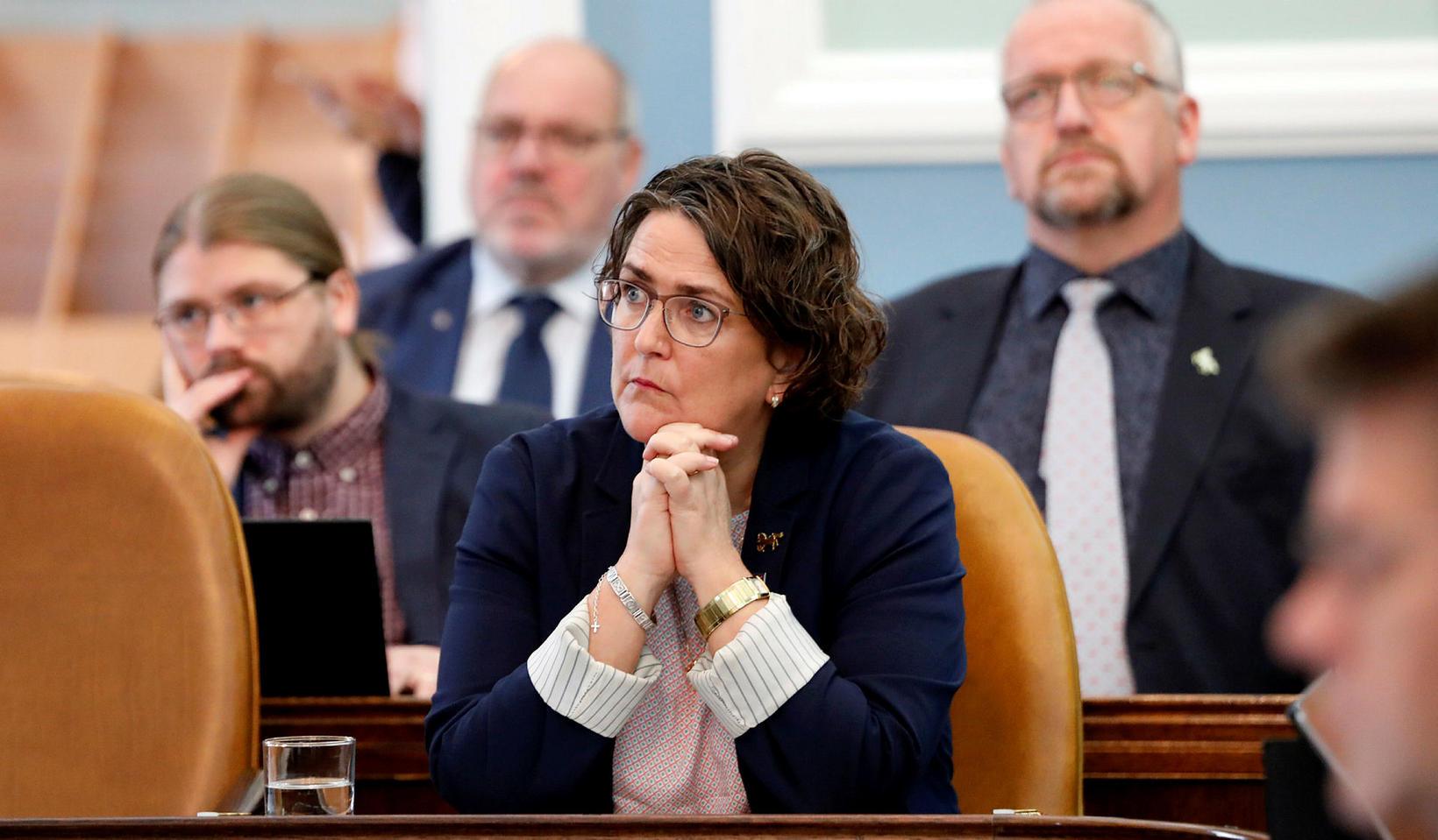 Anna Kolbrún Árnadóttir þingmaður Miðflokksins.