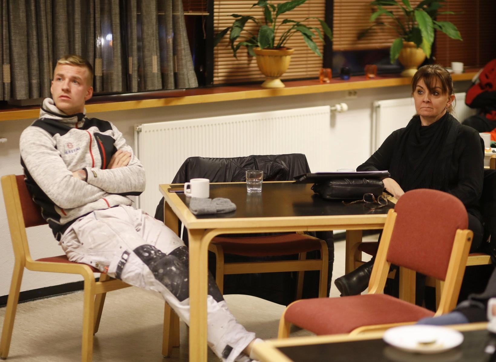 Þorlákur Ari Ágústsson málari og Dögg Hilmarsdóttir, félagsráðgjafi hjá meðferðarsviði ...