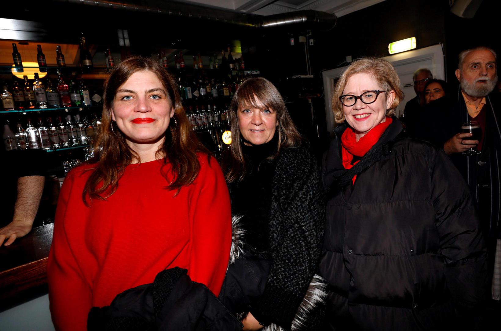 Helga Rakel Rafnsdóttir, Stefanía Thors og Hildur Loftsdóttir.
