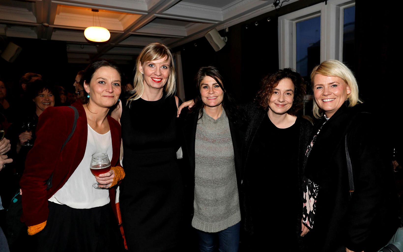 Margrét Marteinsdóttir, Bryndís Ísfold, Ísold Uggadóttir, Auður Jónsdóttir og Brynhildur …