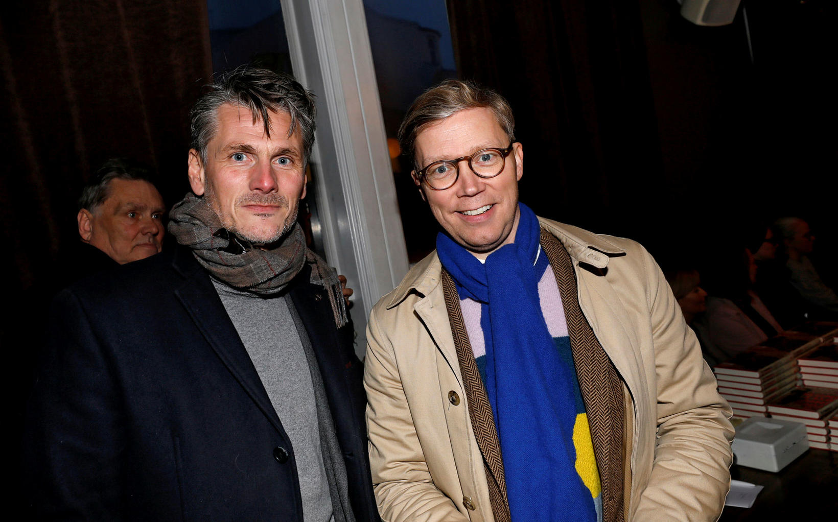 Pétur Marteinsson og Gísli Marteinn Baldursson.