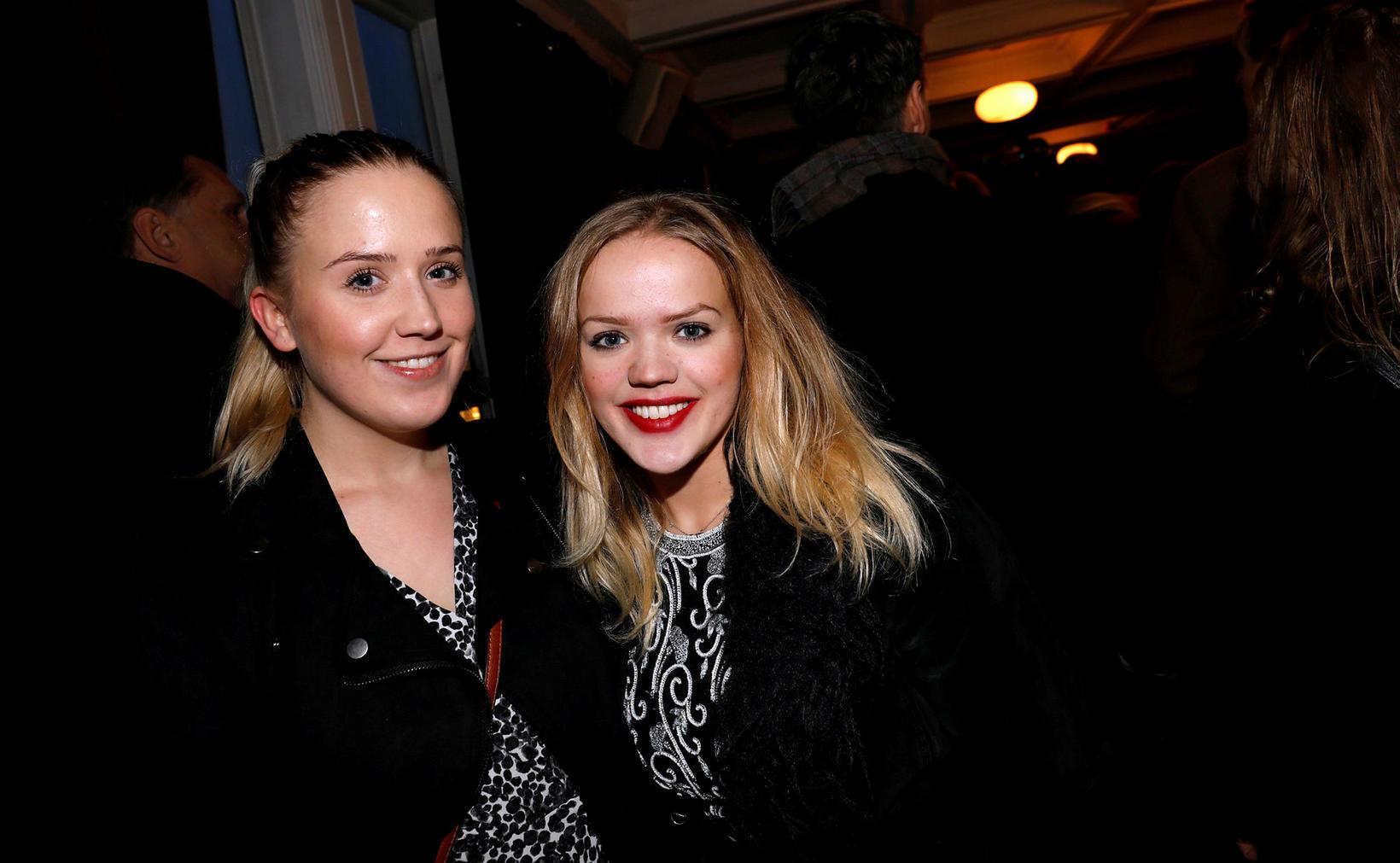 Auður Ásgrímsdóttir og Björk Ásgrímsdóttir.