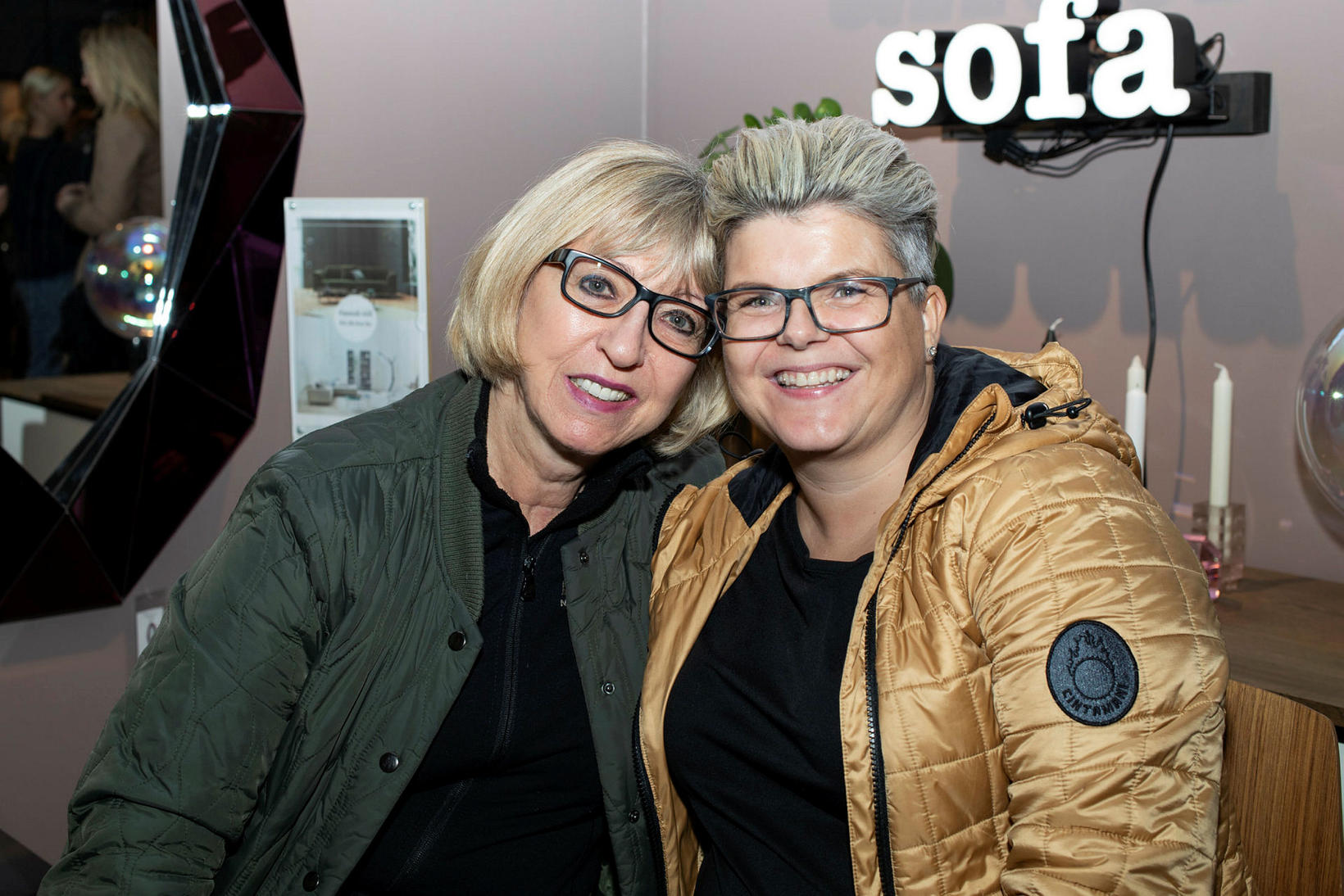 Yvonne Kristín og Vala Hrönn.