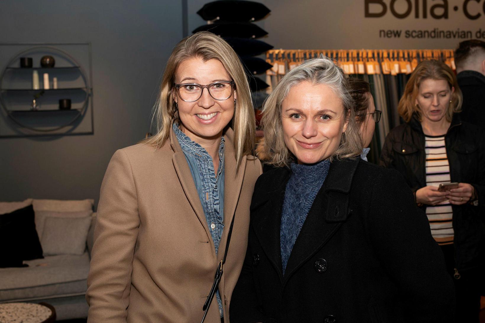 Erla Andrea Pétursdóttir og Laufey Björk Ólafsdóttir.