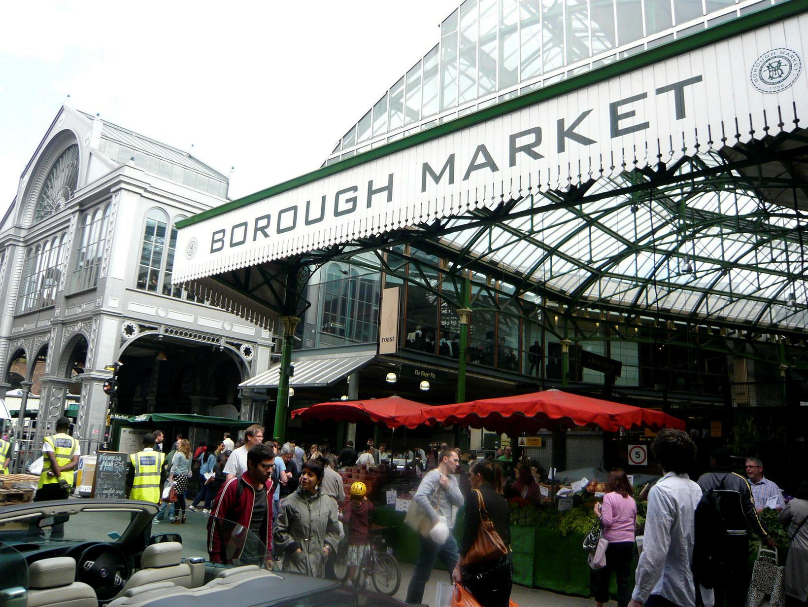 Borough Market er stærsti og elsti matarmarkaður Lúndúna.