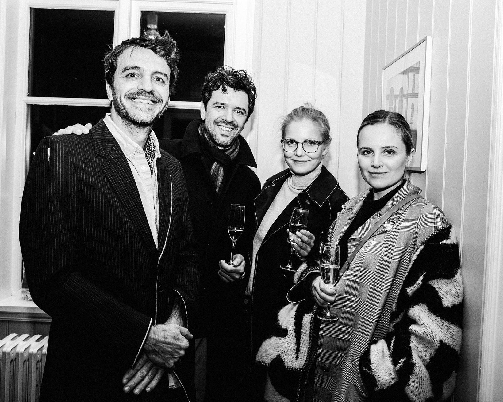 Albert Munos, Rafael Pinho, Erna Hreinsdóttir og Erna Einarsdóttir.