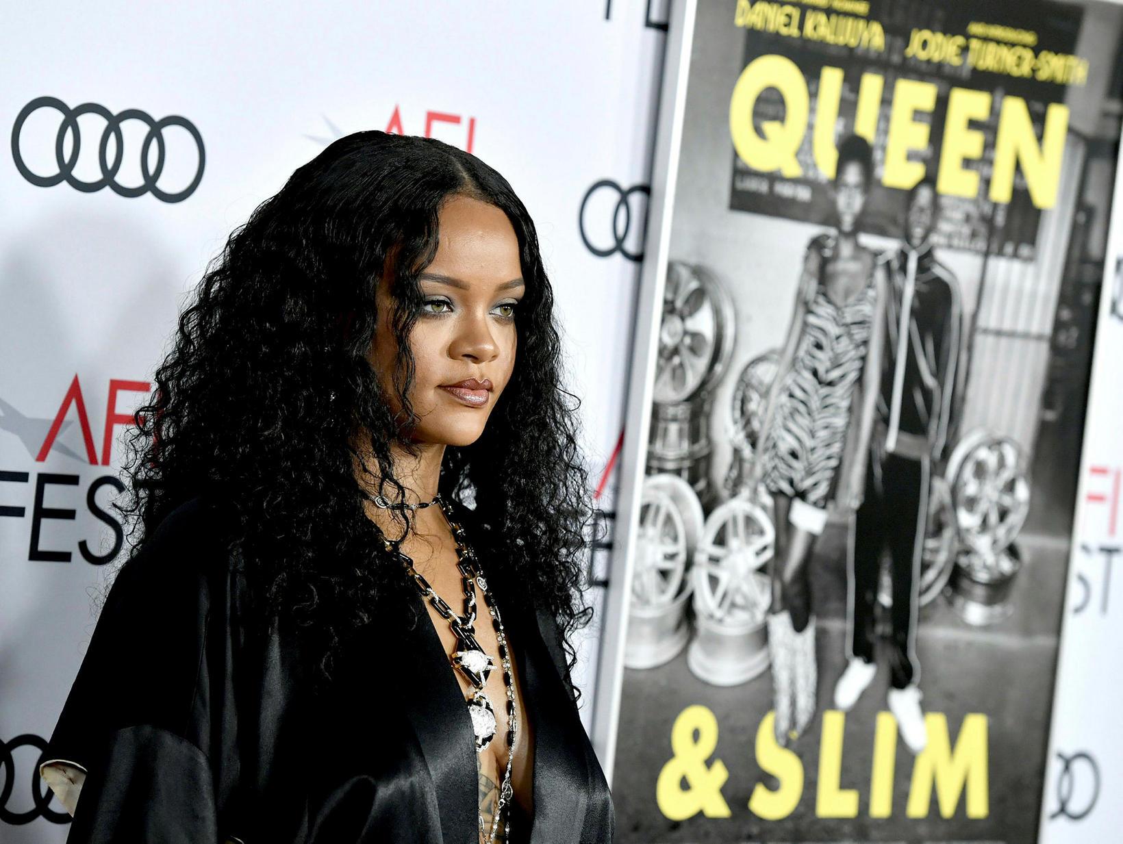 Rihanna hefur tjáð sig opinberlega um málið.