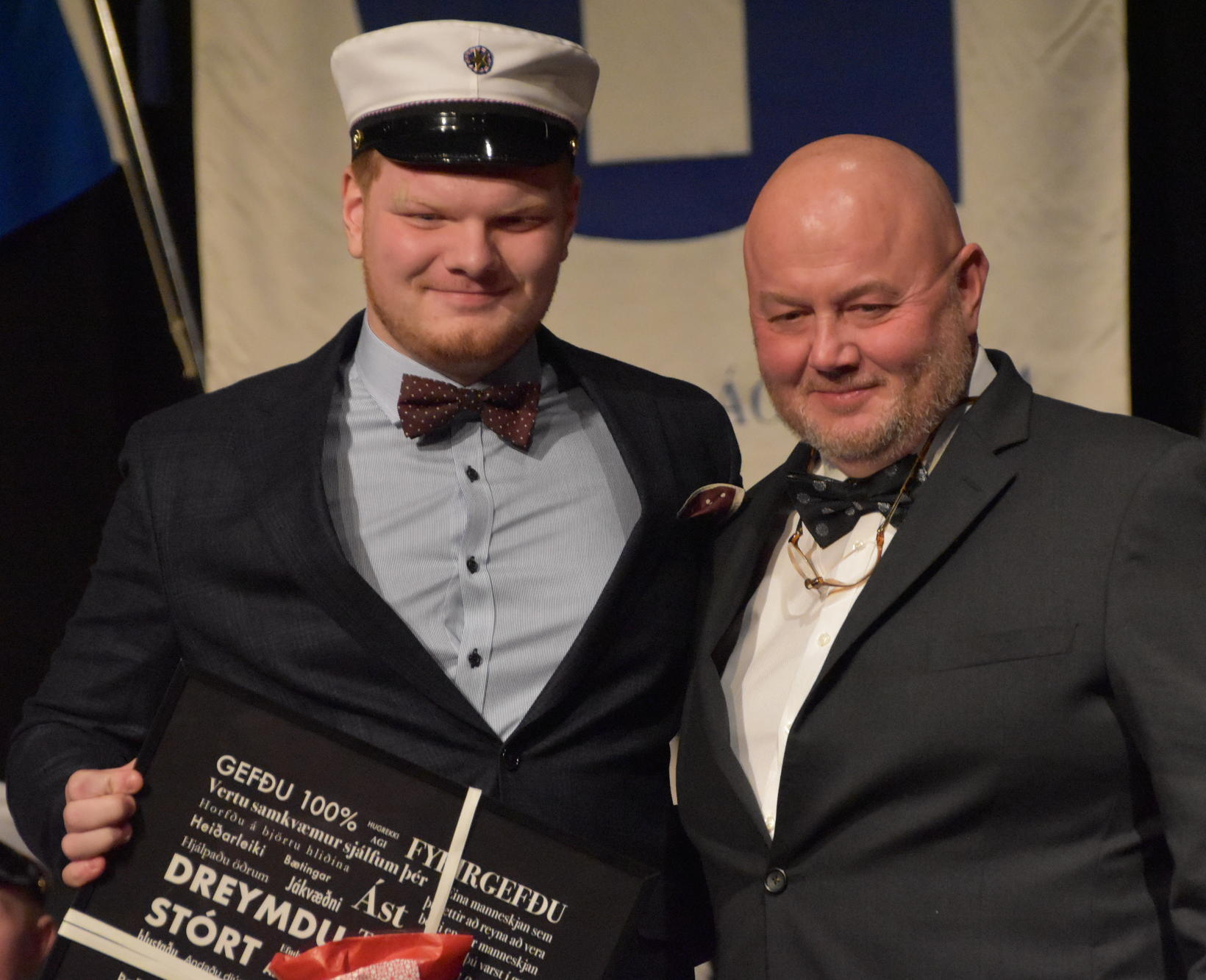 Davíð Elí Heimisson og Kristinn Þorsteinsson.