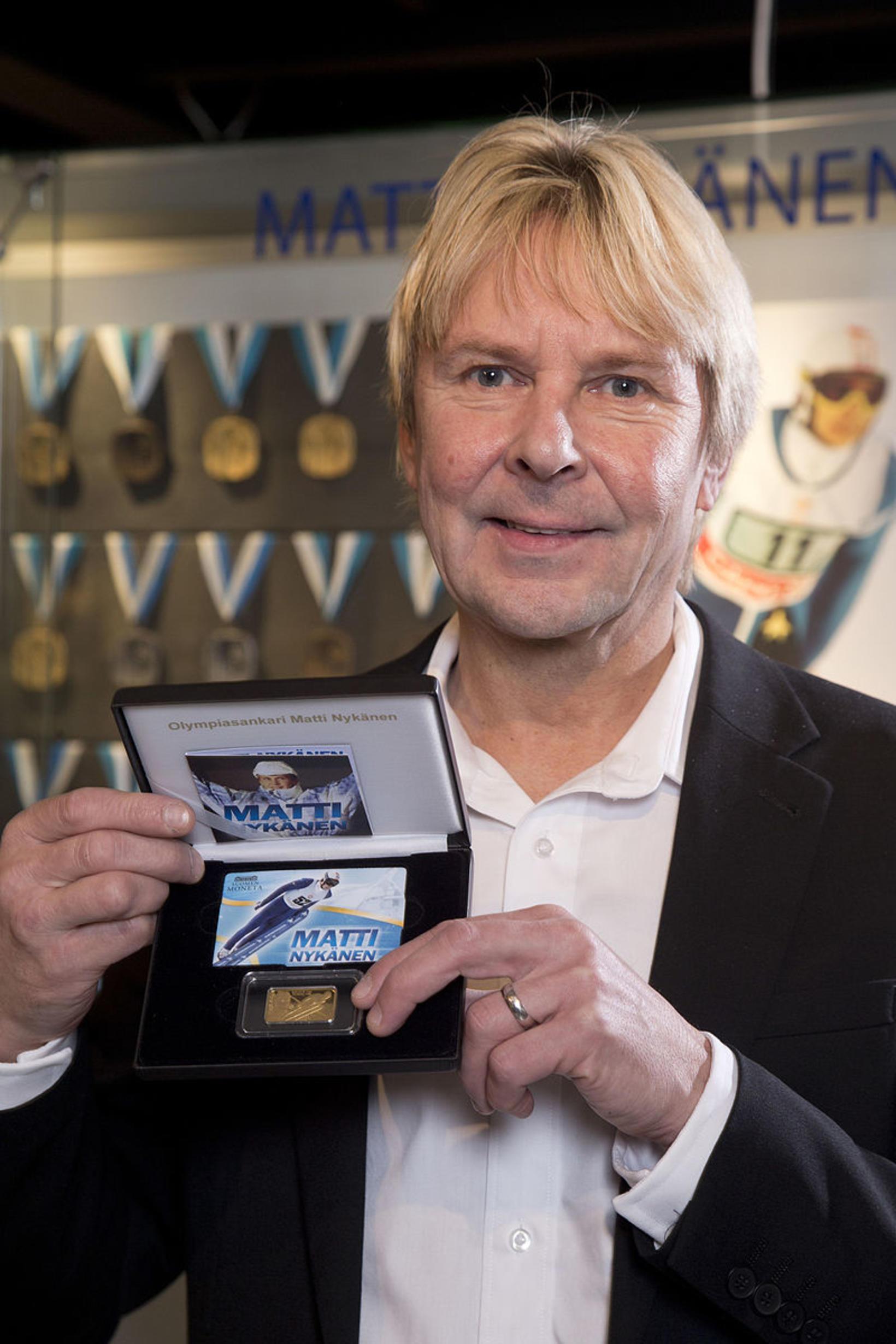 Matti Nykänen árið 2014