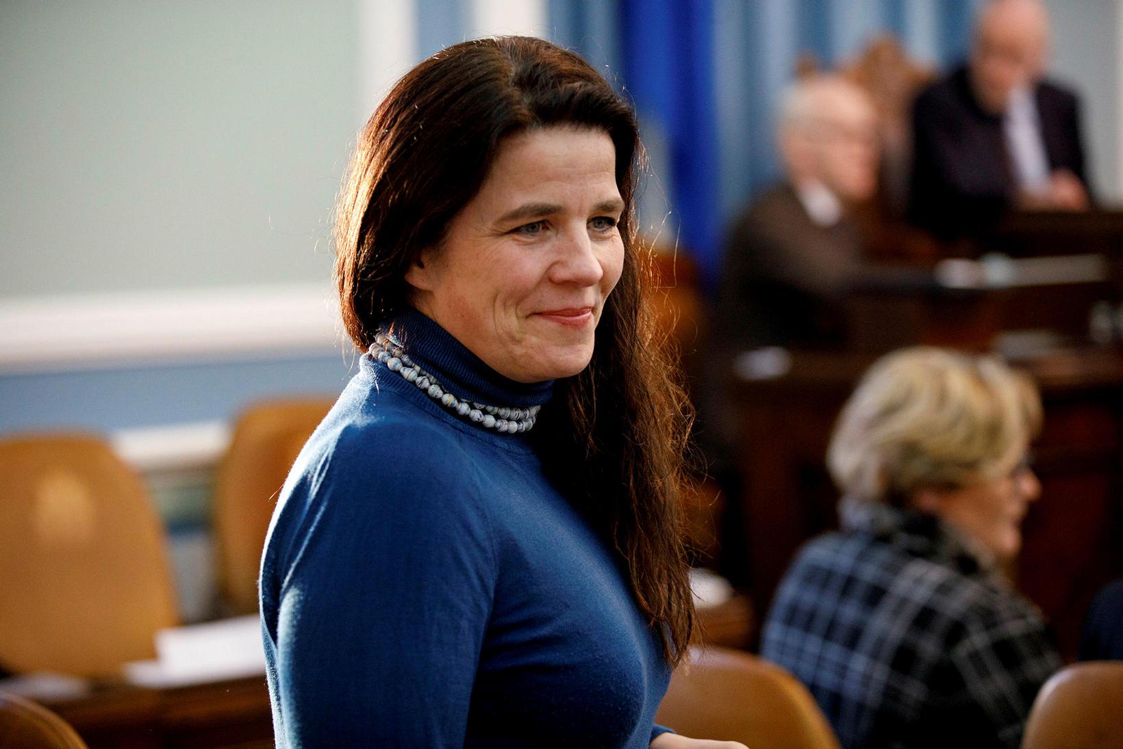 Helga Vala Helgadóttir, þingman Samfylkingarinnar.