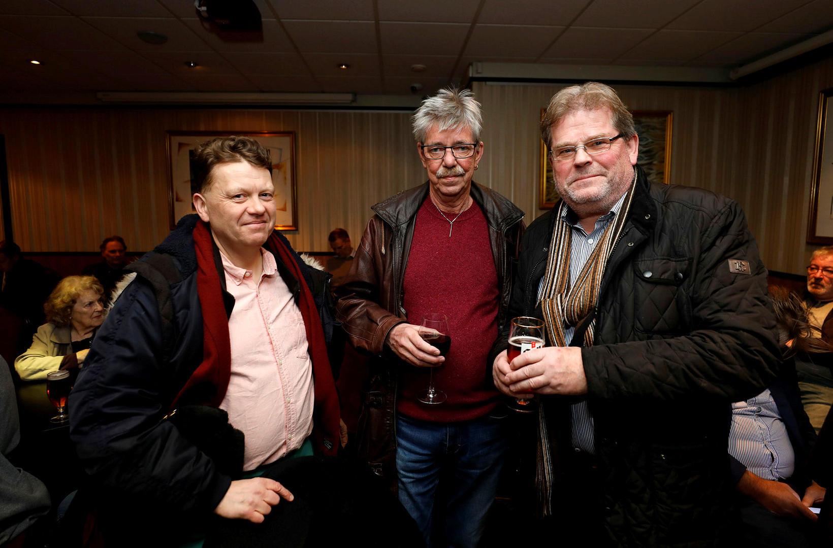 Valdimar Tómasson, Eiríkur Brynjólfsson og Gunnar Skaftason.