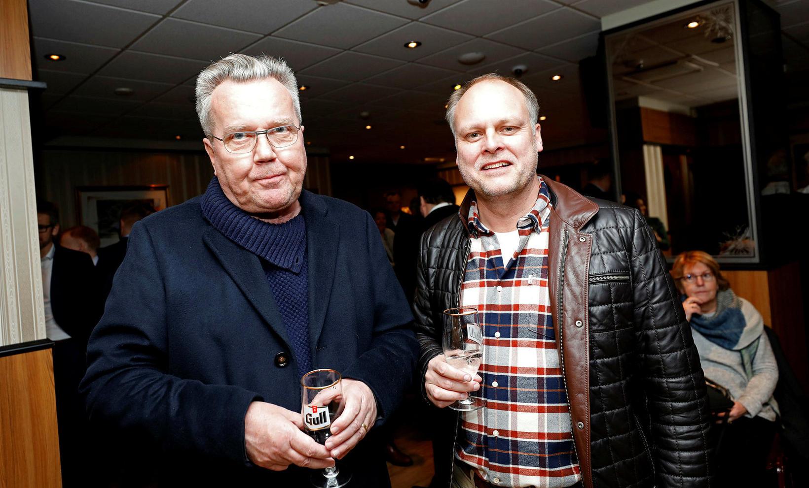Eiríkur Jónsson og Halldór Friðrik Þorsteinsson.