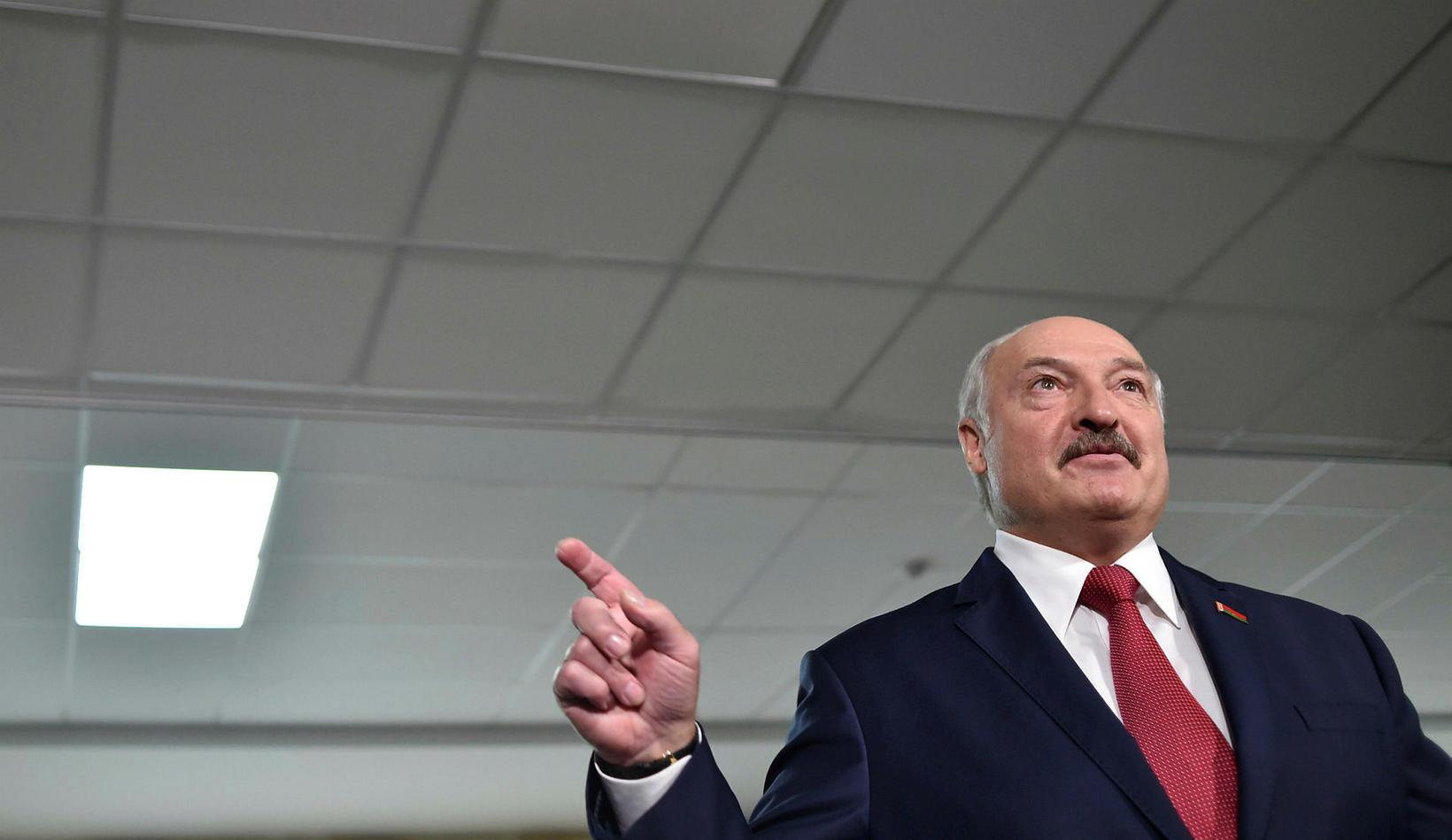 Alexander Lukashenko, forseti Hvíta-Rússlands.