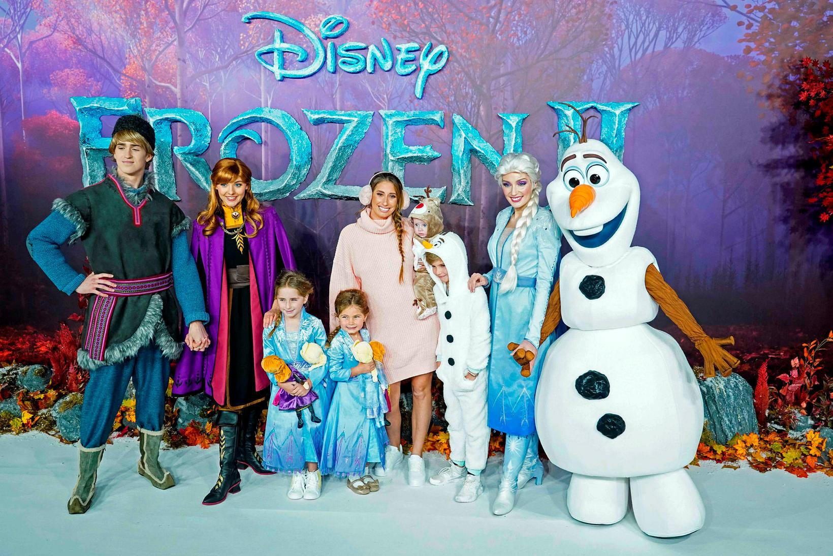 Frá frumsýningu Frozen 2 í London.