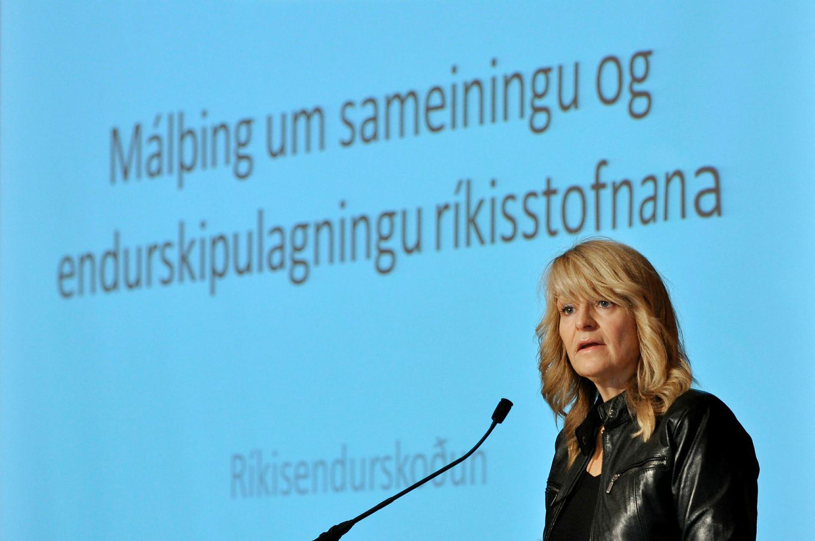 Ragnhildur Arnljótsdóttir.