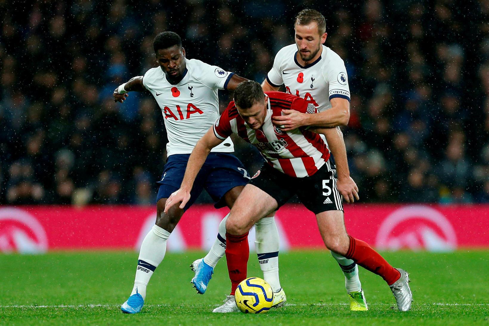 Tottenham og Sheffield United skildu jöfn.