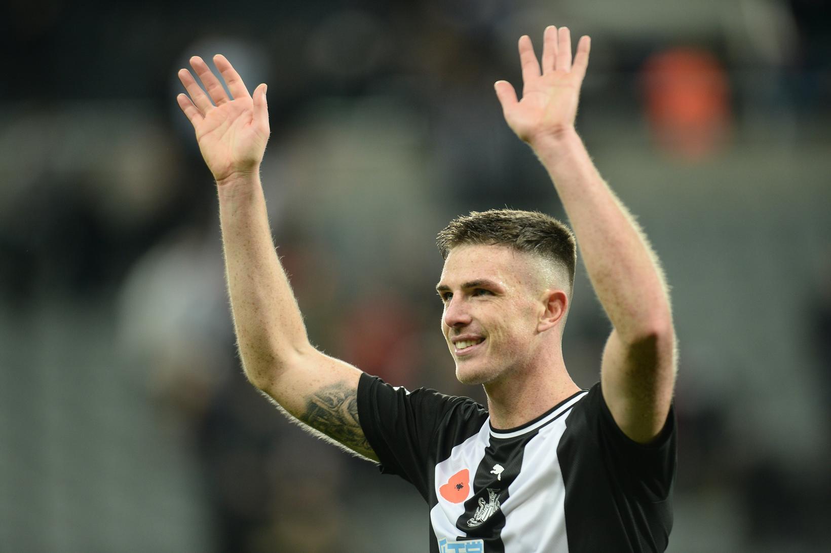 Claran Clark tryggði Newcastle sigur gegn Bournemouth.