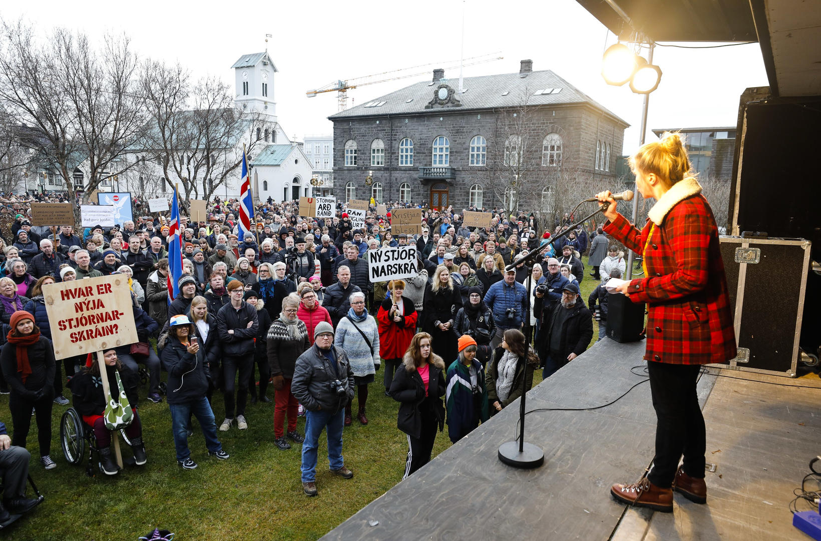 """Katrín Oddsdóttir, formaður Stjórnarskrárfélagsins, hefur barist fyrir því að """"nýja …"""