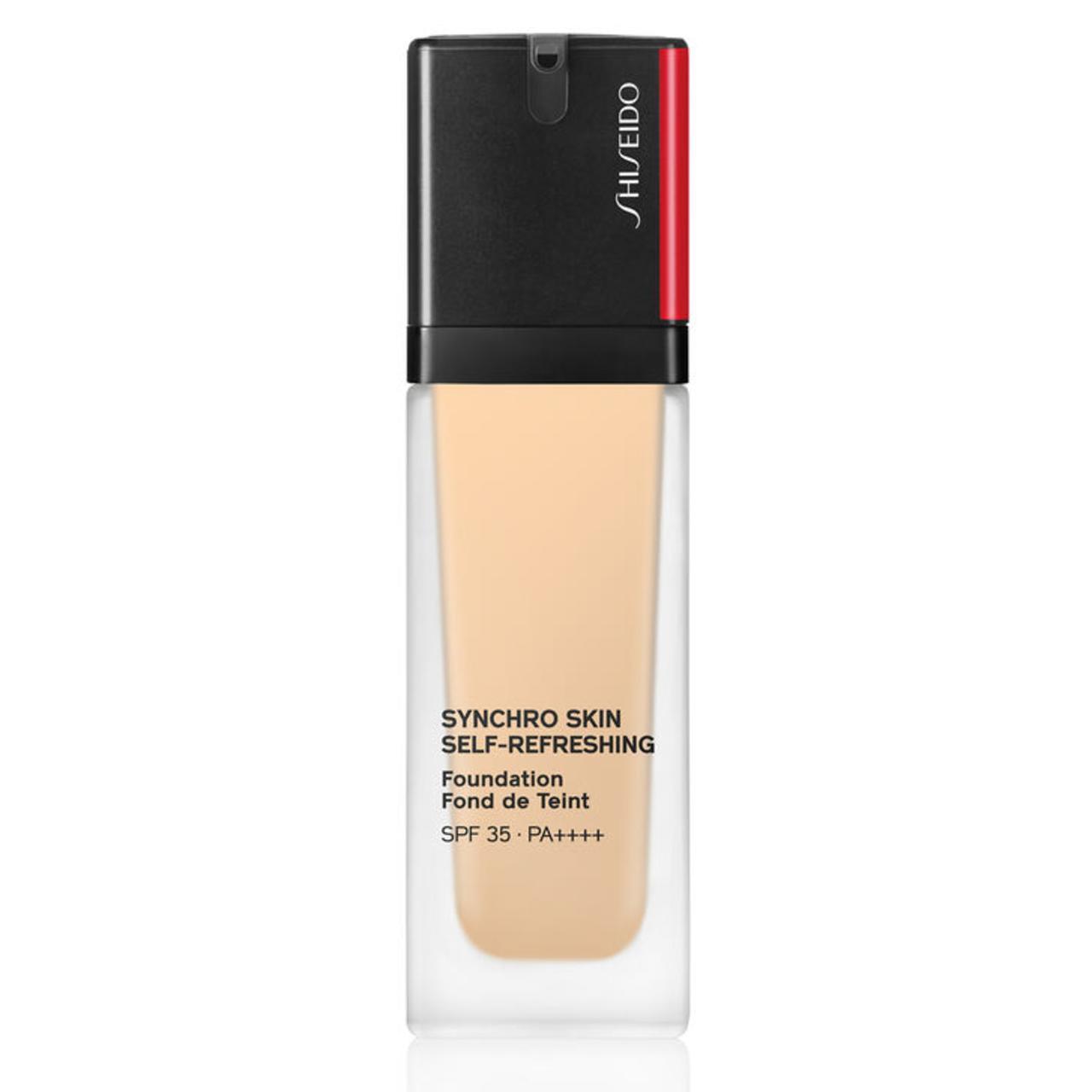 Shiseido Synchro Skin Self-Refreshing Foundation SPF 30.