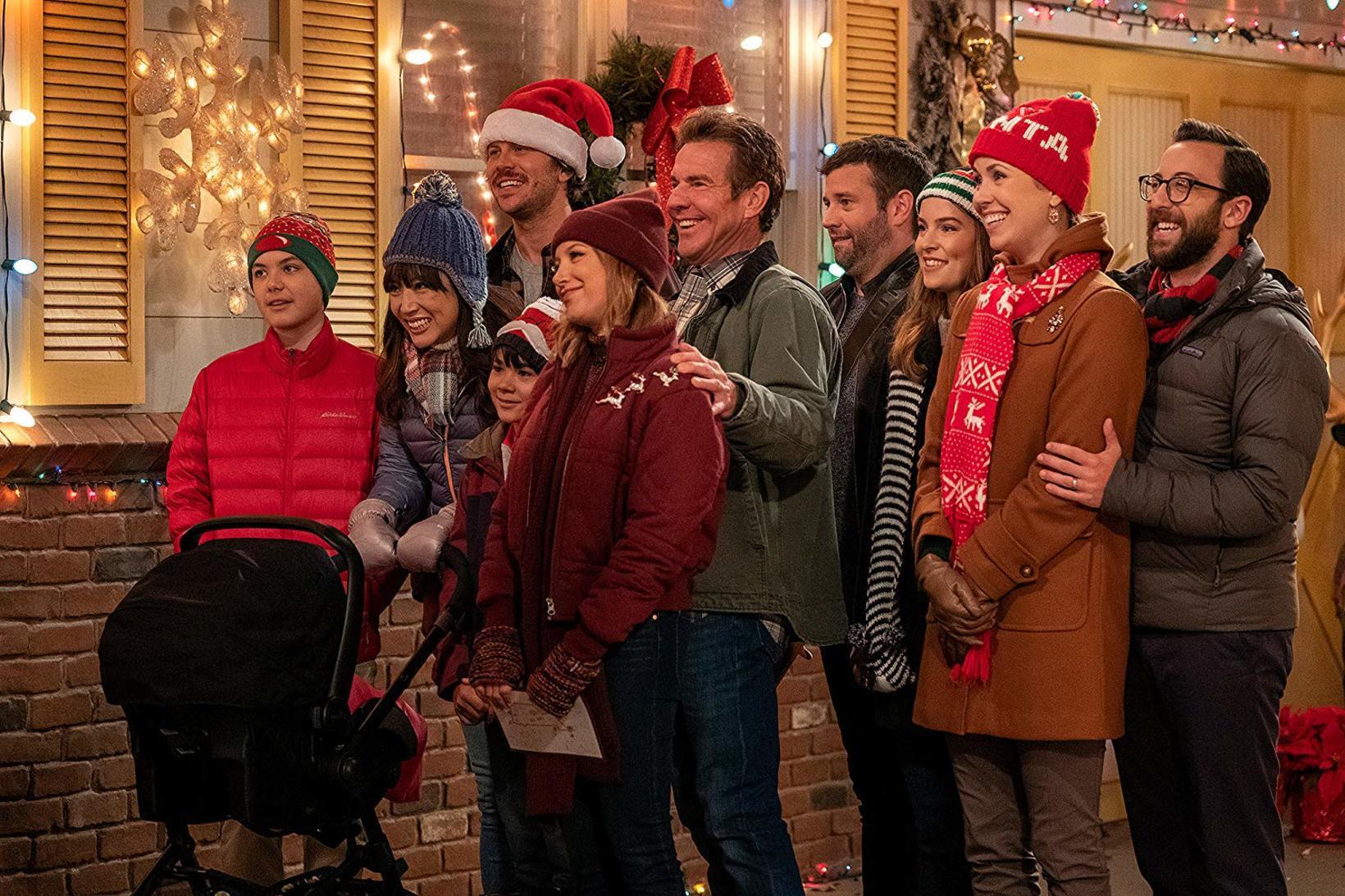 Dennis Quaid er í aðalhluverki í þáttunum Merry Christmas Whatever ...