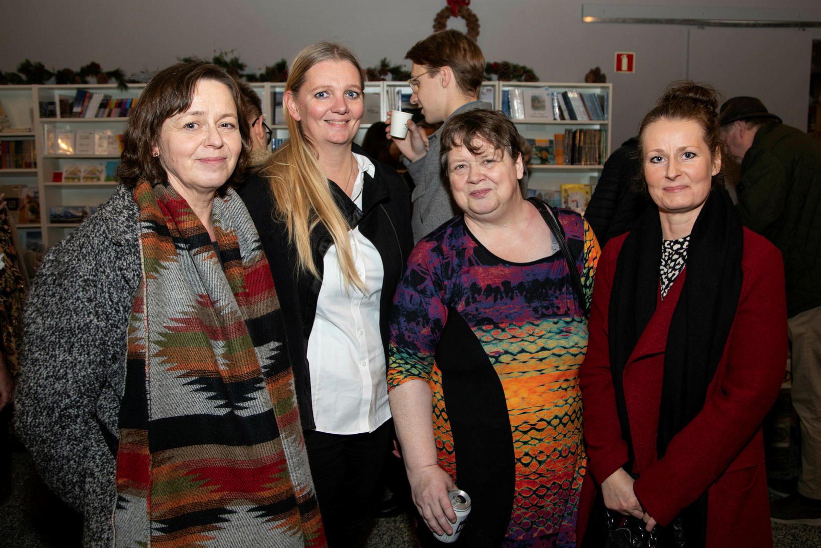 Sigríður Rögnvaldsdóttir, Þórhildur Garðarsdóttir, Nanna Rögnvaldardóttir og Ingibjörg Helgadóttir.