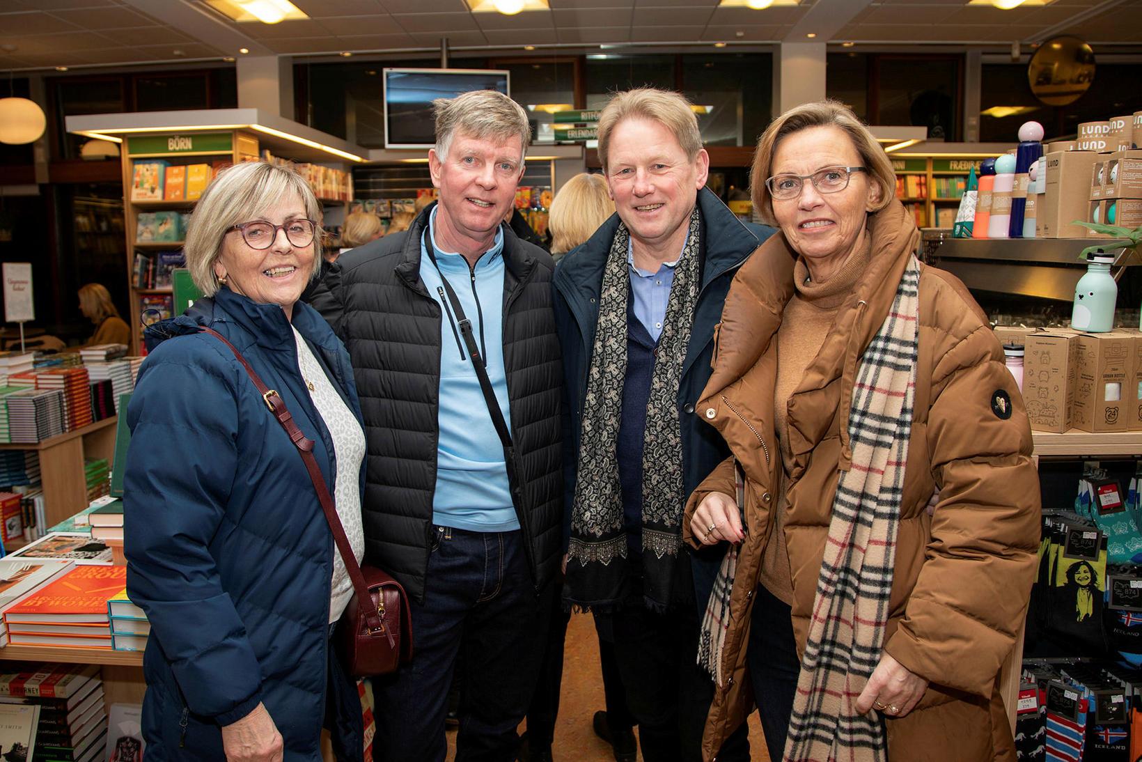 Hólmfríður Kristinsdóttir, Gunnar Karl Gunnlaugsson, Rúnar Geirmundsson og Kristin Sigurðardóttir.