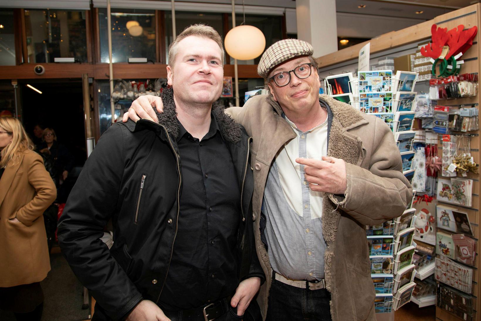 Sölvi Sigurðsson og Jakob Bjarnar Grétarsson.