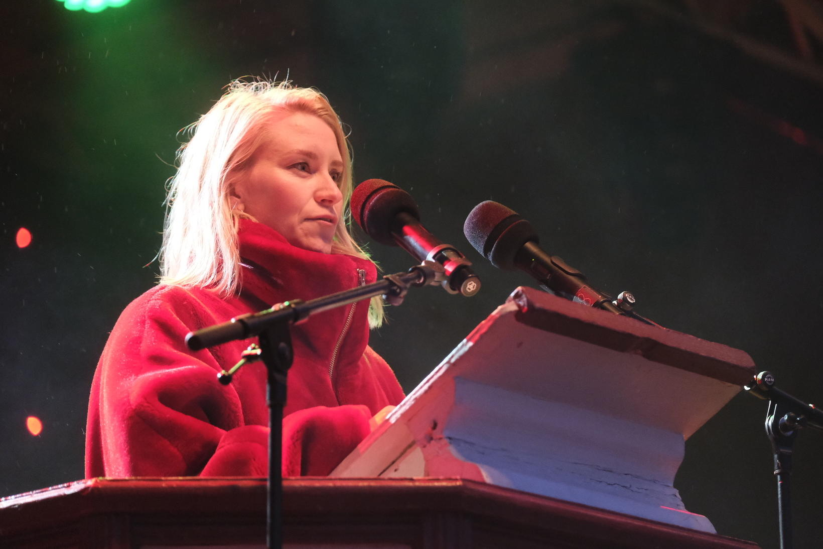 Oslo City Councilmember Line Steine Oma.