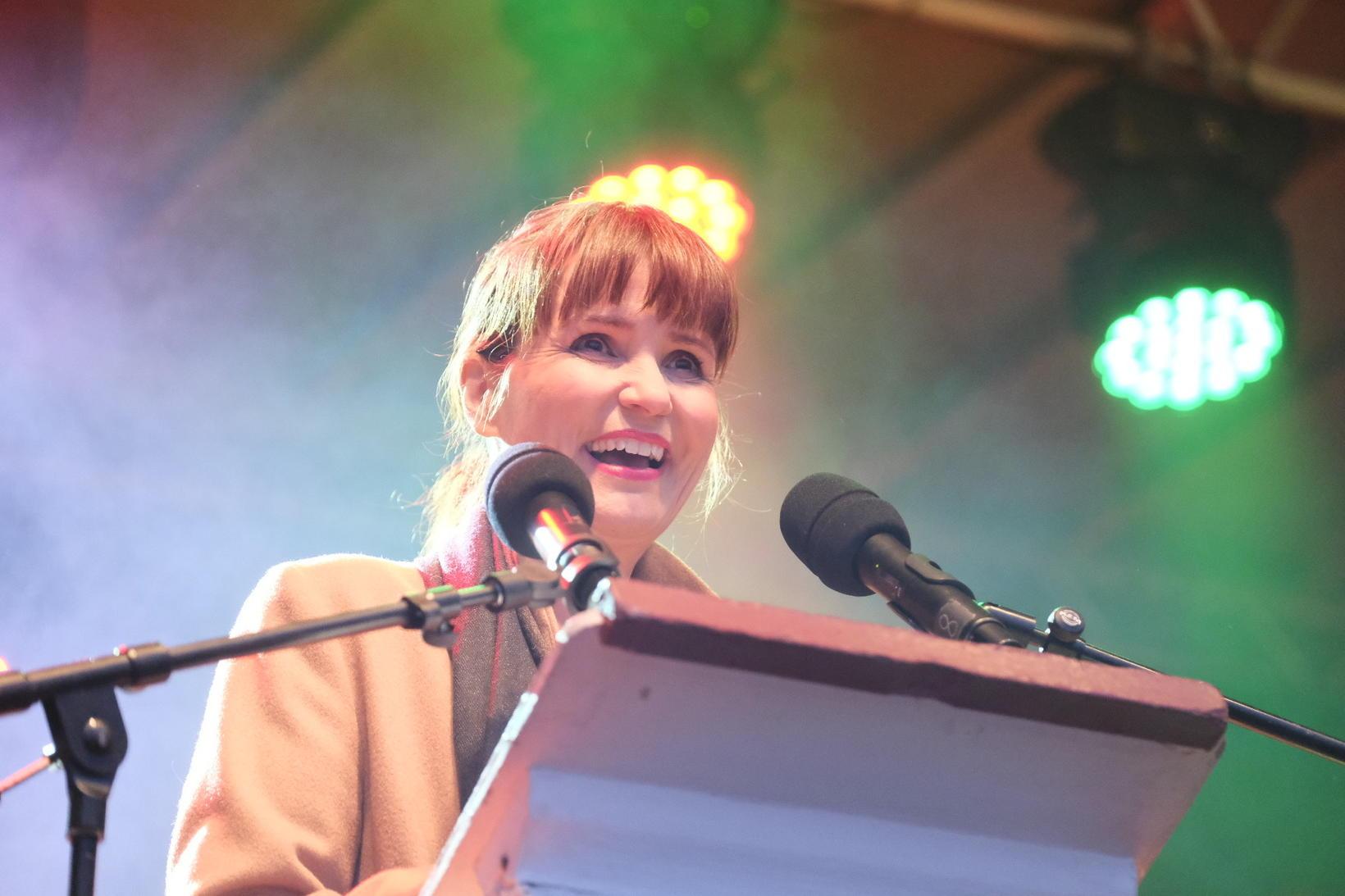 Actress Katla Margrét Þorgeirsdóttir.