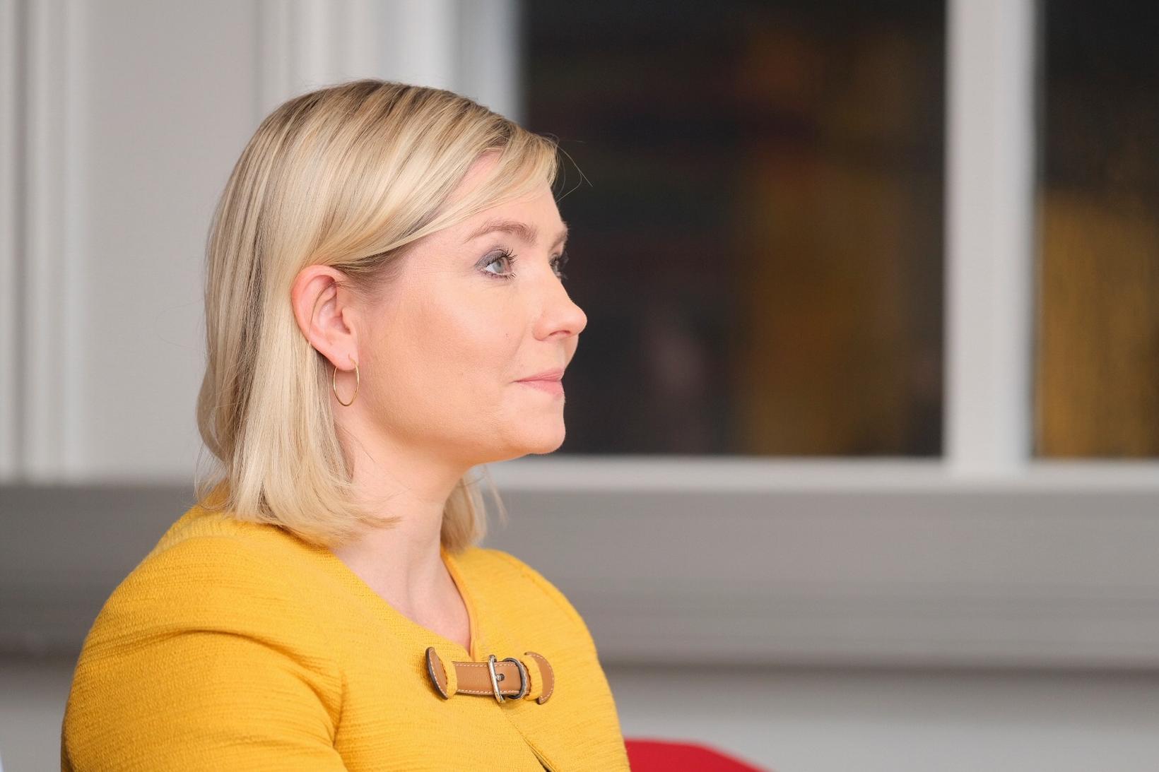 Lilja Alfreðsdóttir, mennta- og menningarmálaráðherra, segir mikilvægt að hér sé …