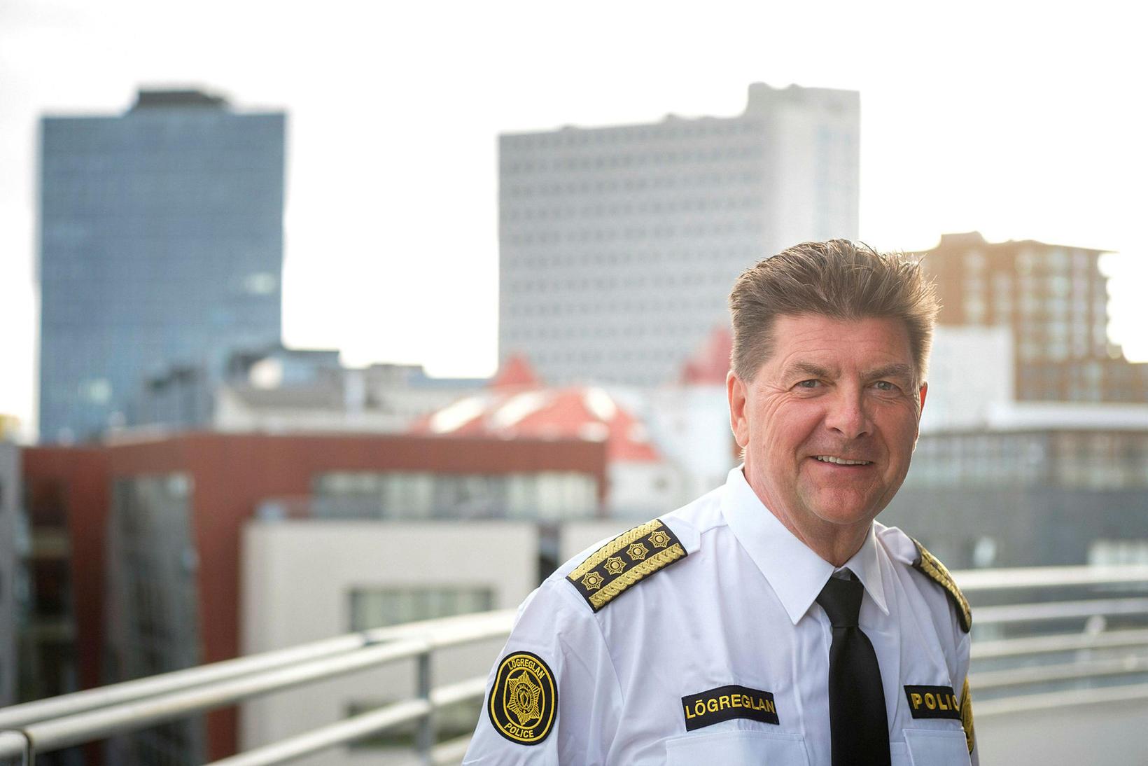 Haraldur Johannessen, fráfarandi ríkislögreglustjóri.