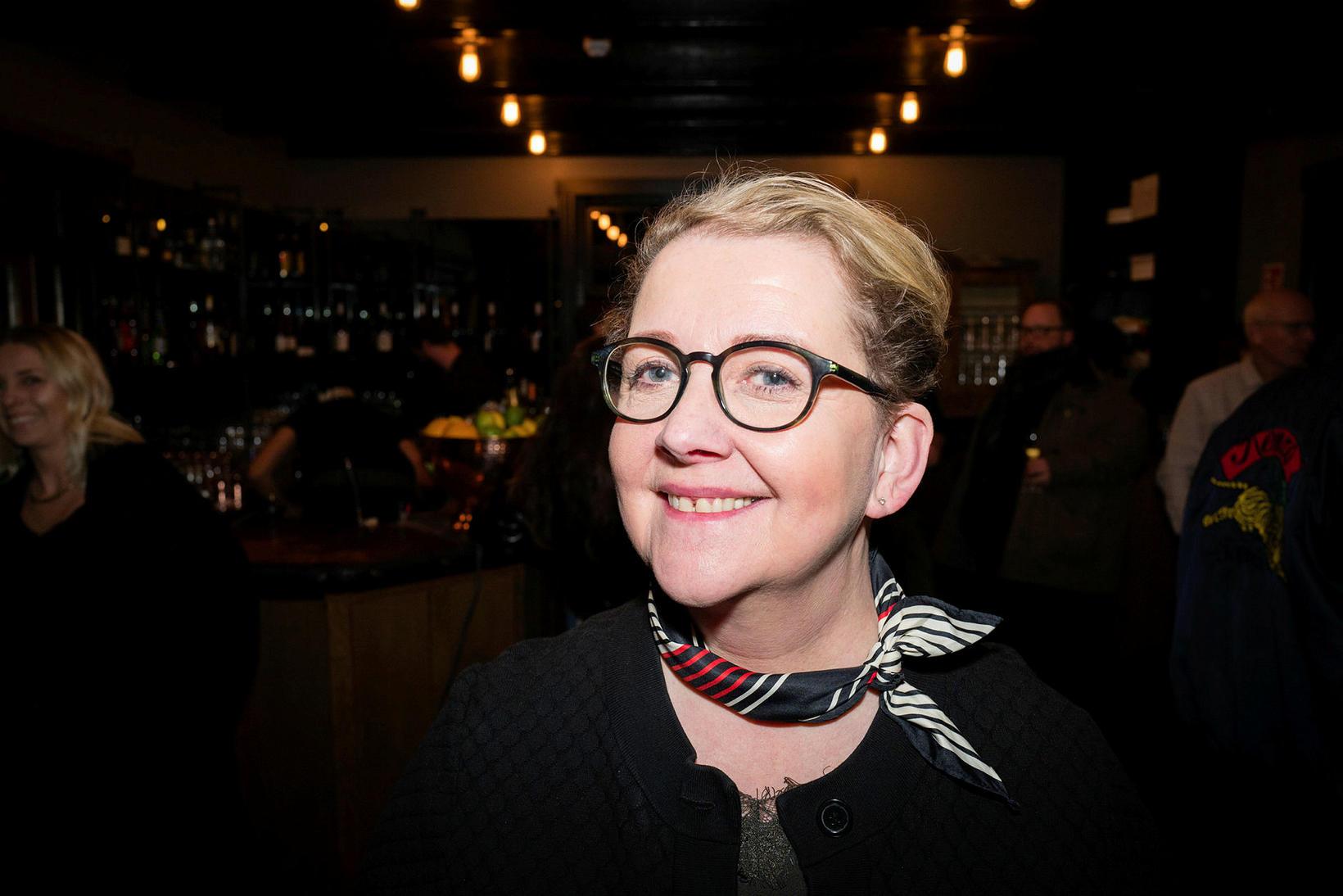 Edda Hauksdóttir.