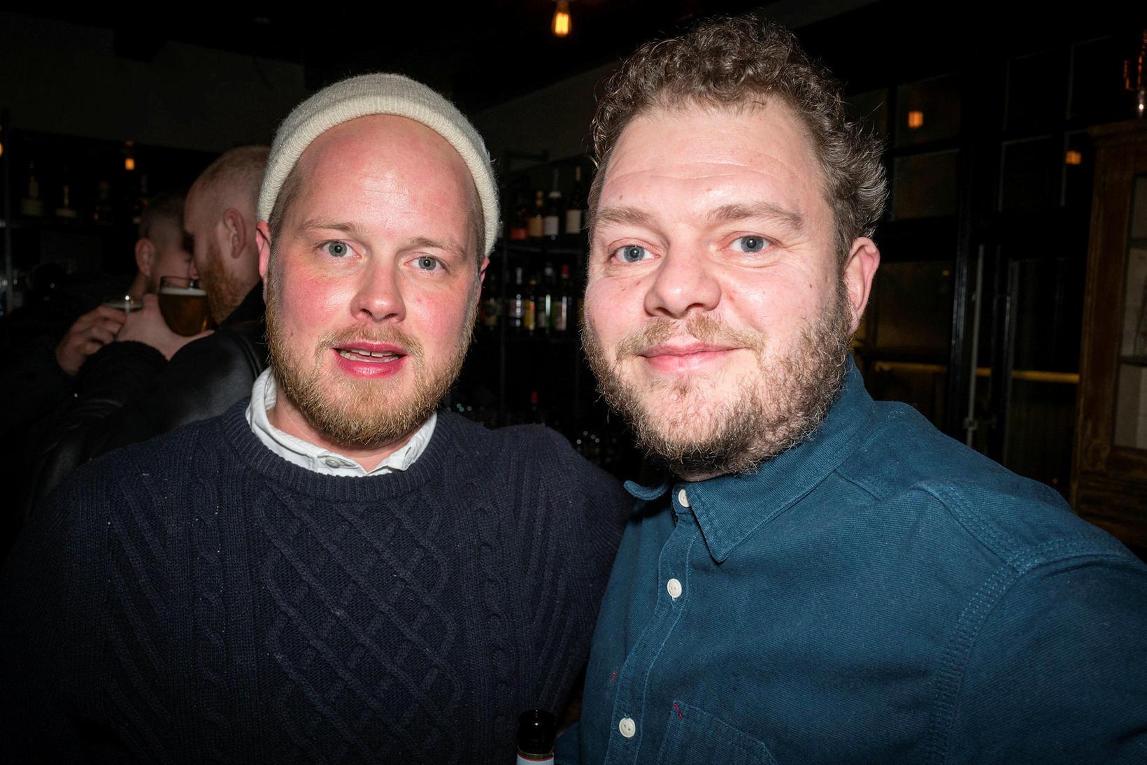 Snorri Helgason og Jón Mýrdal.