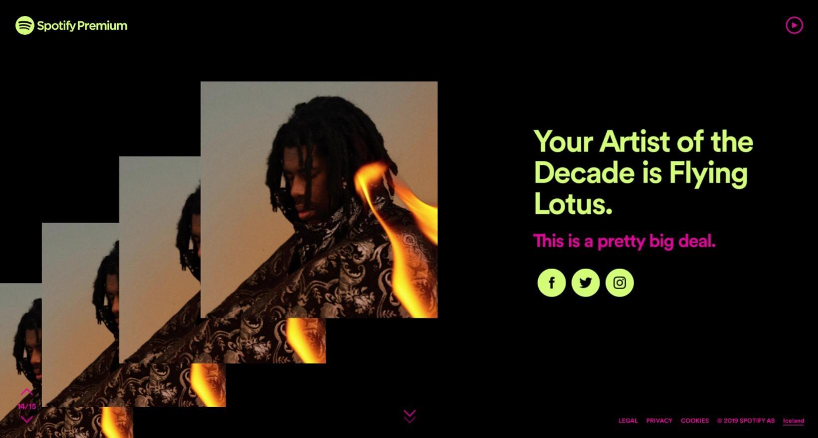 Þetta mun vera stórmál samkvæmt félögum mínum hjá Spotify.