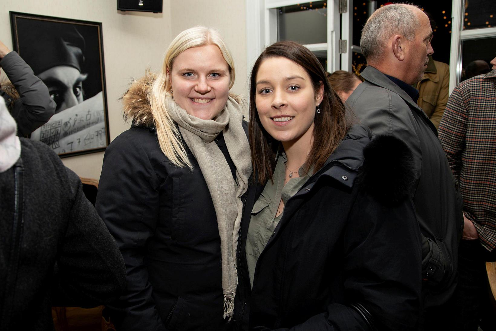 Hrönn Ólafsdóttir og Guðrún Steindórsdóttir.