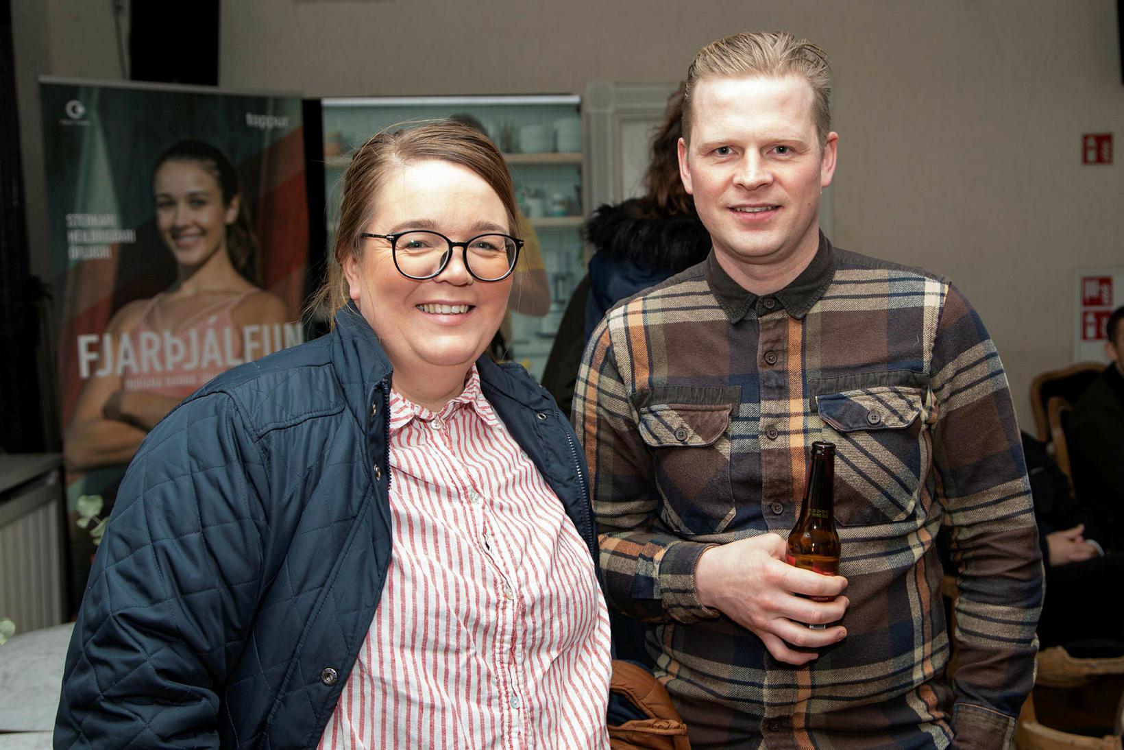 Tobba Ólafsdóttir og Ernir Eyjólfsson.