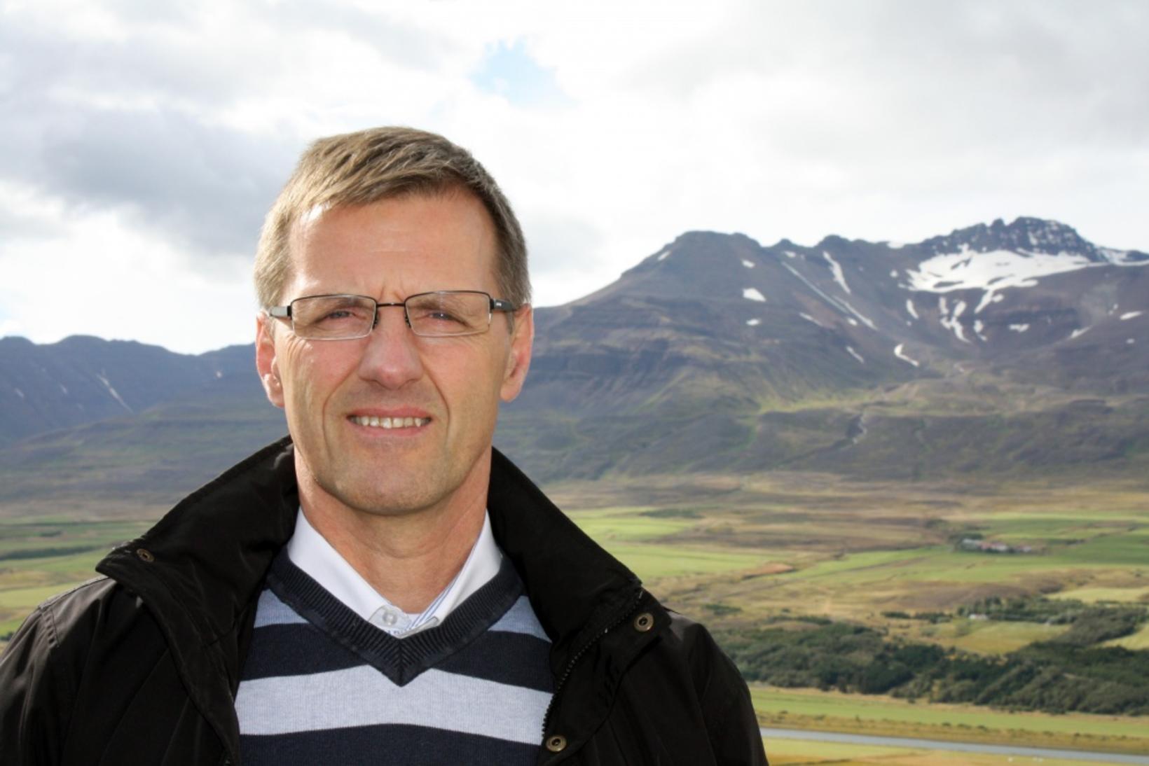 Karl Frímannsson sviðsstjóri fræðslusviðs Akureyrarbæjar.