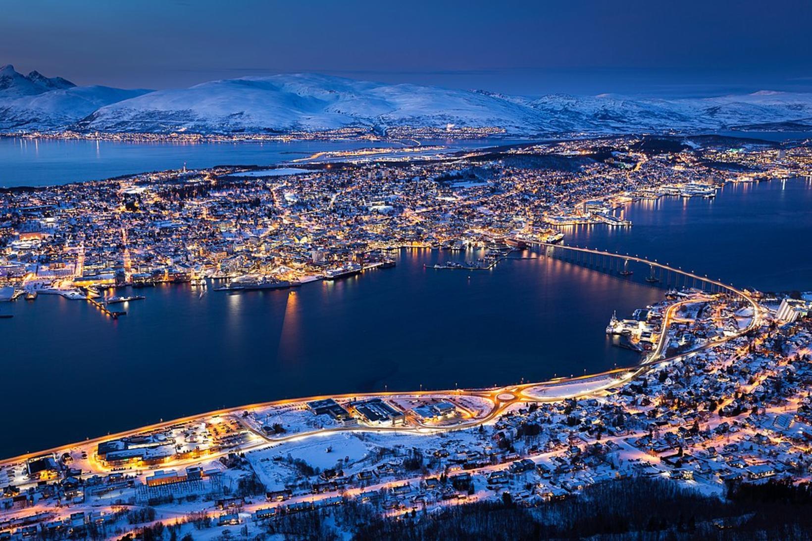 Alþjóðaskáksambandið krafðist mikils viðbúnaðar í Tromsø á Ólympíuskákmótinu árið 2014 …