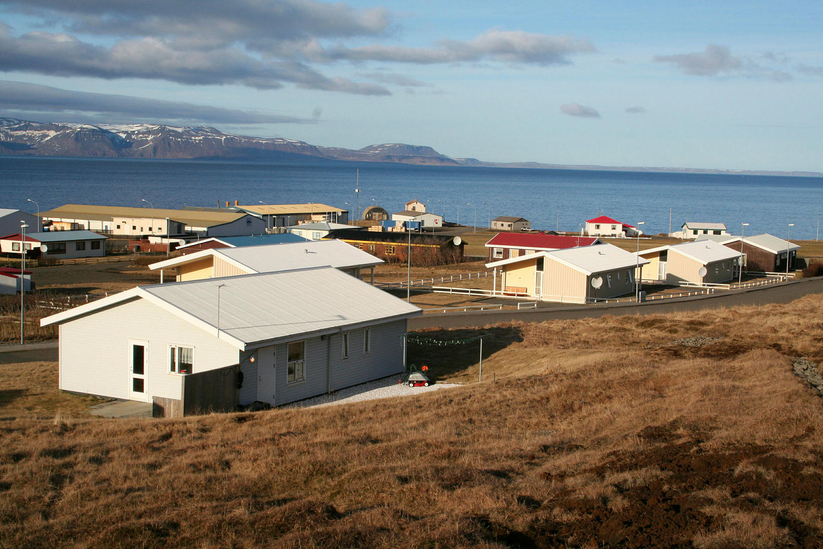 Bakkafjörður er fallegt en friðsælt þorp en Þórir segir að …