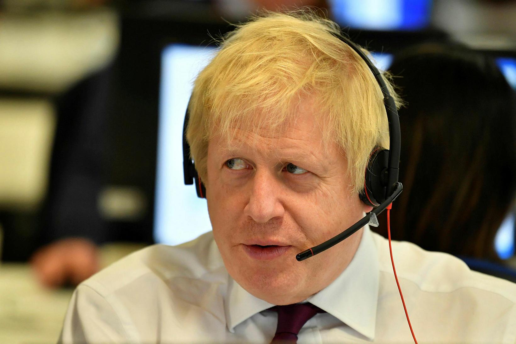 Forsætisráðherra Bretlands, Boris Johnson.