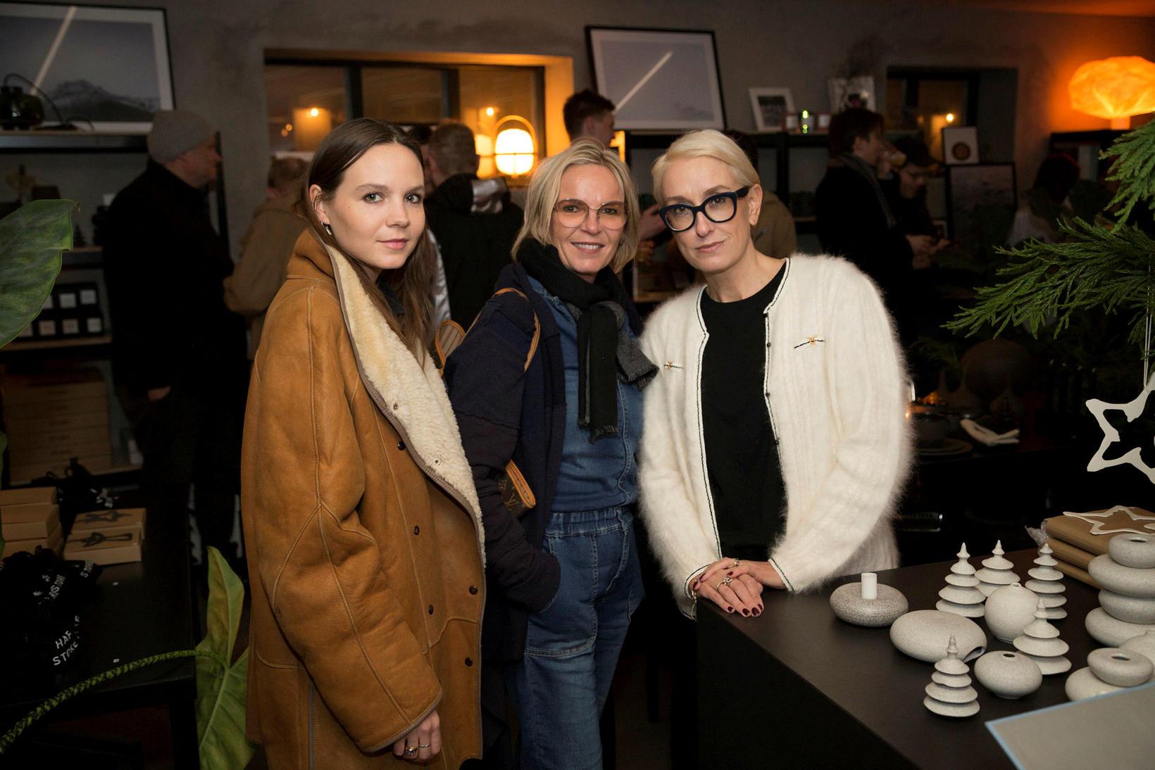Anika, Katrín og Halla Bára.