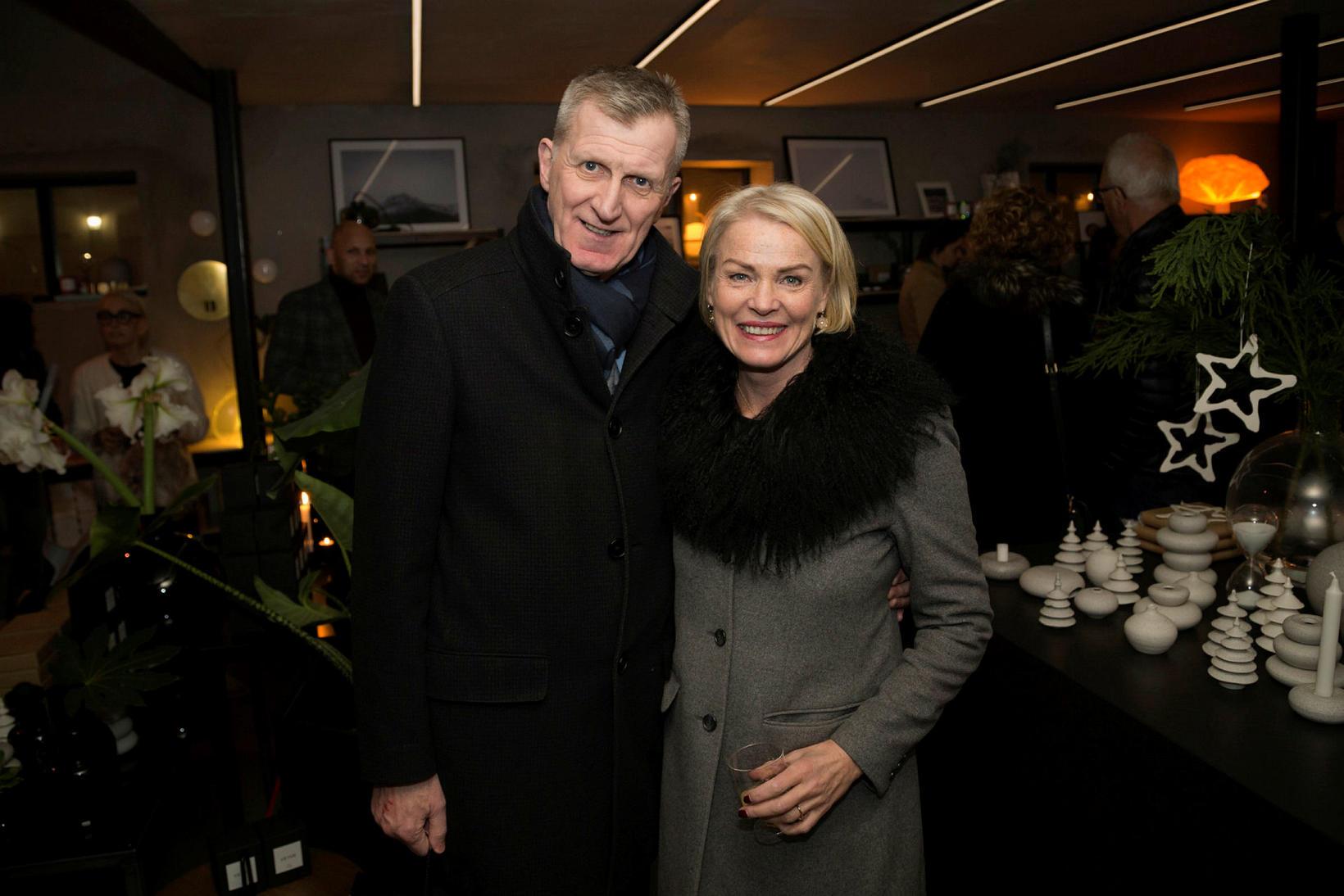 Magnea Gísladóttir og Egill Heiðar Gíslason