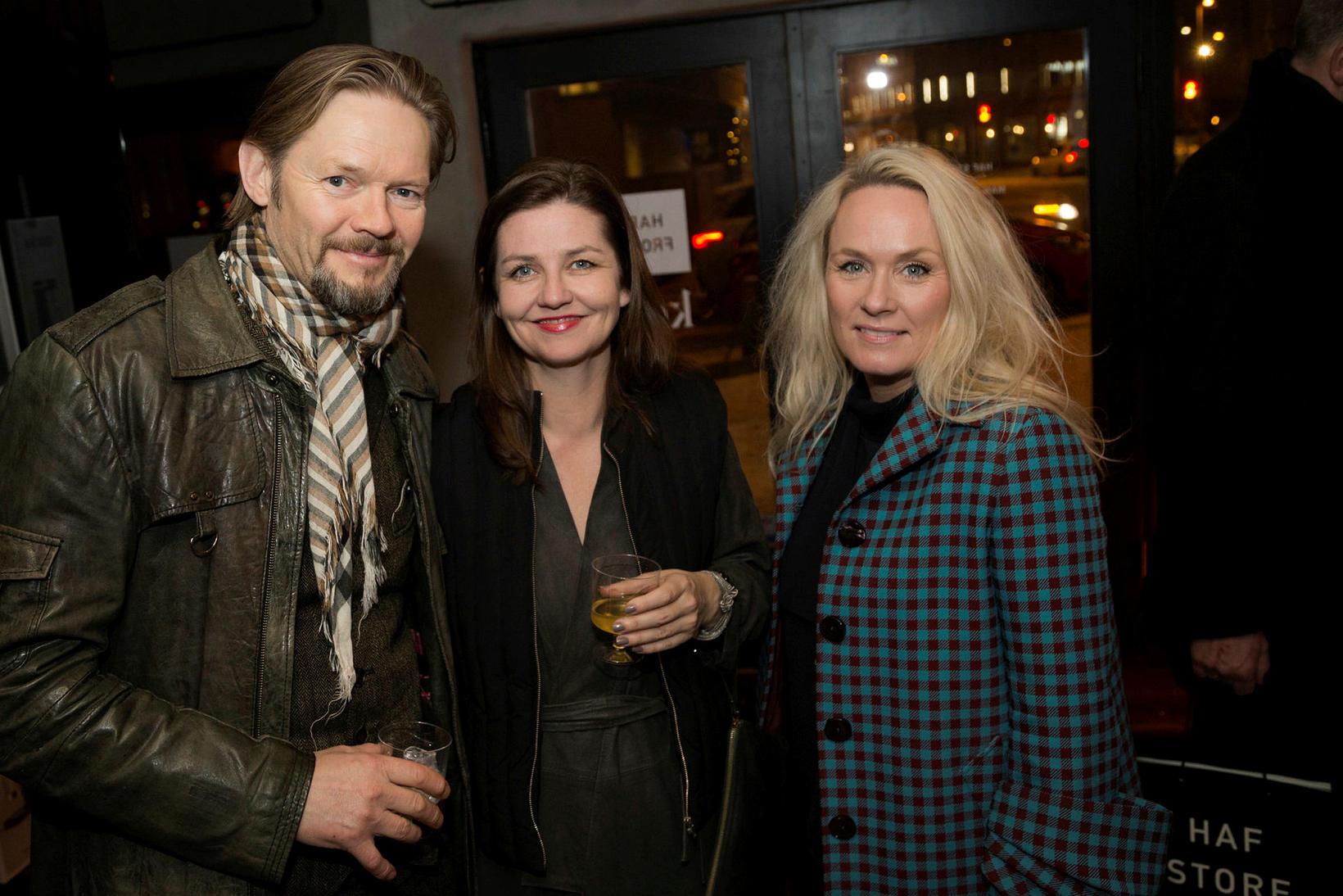 Björn Ingi, Hlín Helga Guðlaugsdóttir og Dögg Thomsen.