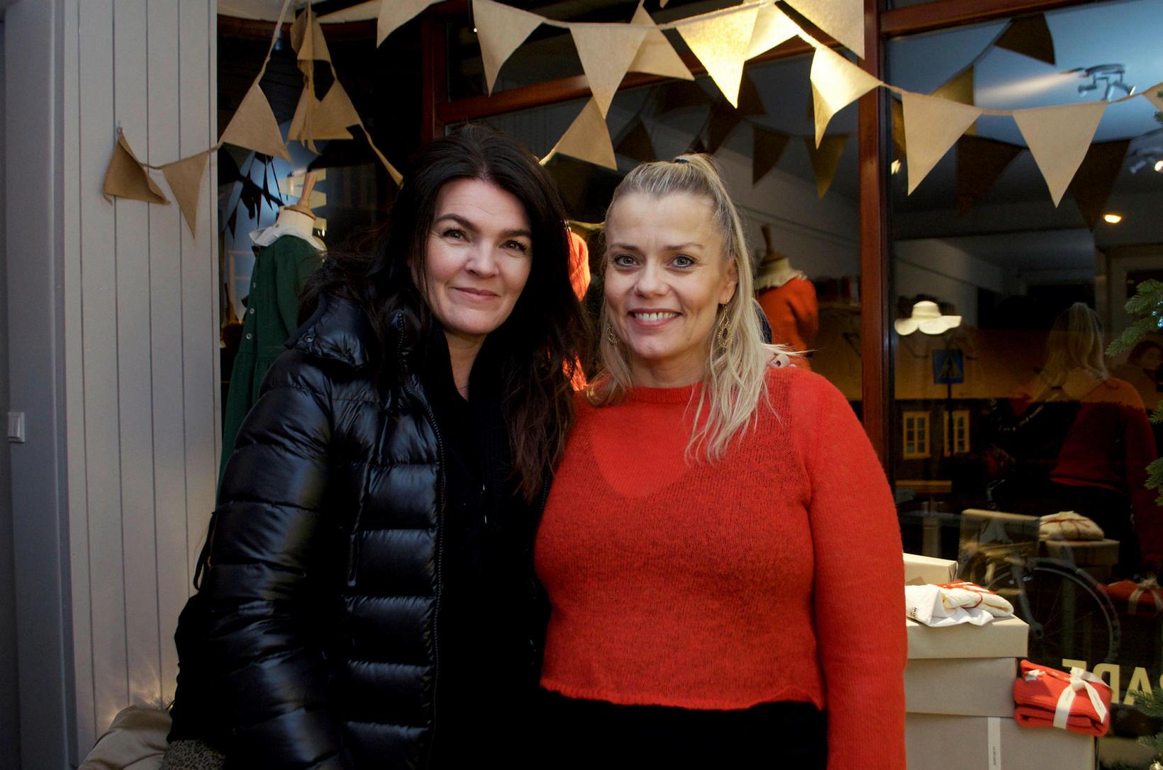 Þóra Margrét Baldvinsdóttir og Þórunn Erna Clausen.