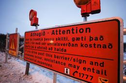 Please respect all road closures.